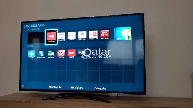 title · title. Information. Samsung Smart TV 50 inch | Qatar Living