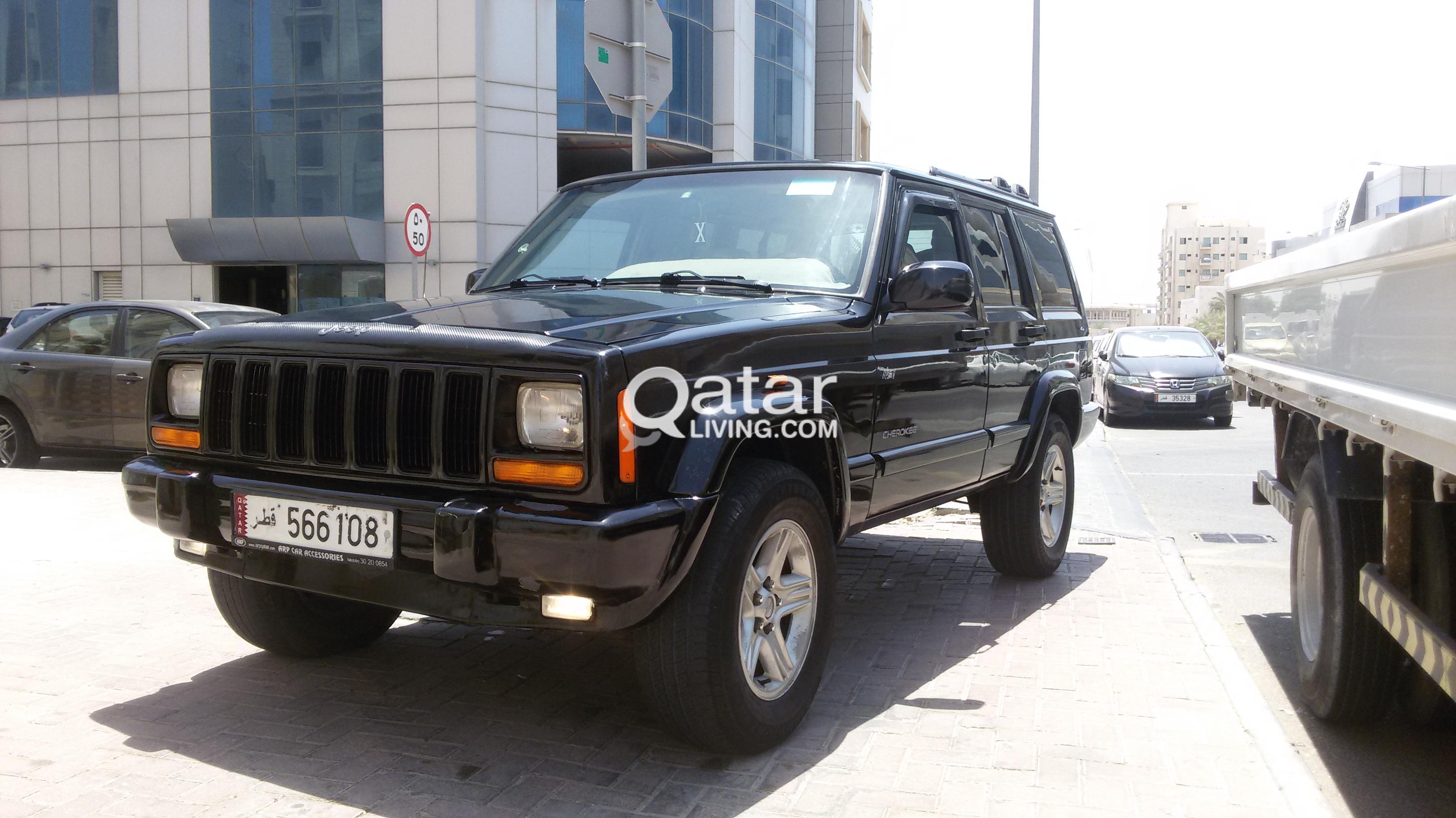 advert for title sport jeep xj sale vehicles qatar information living cherokee