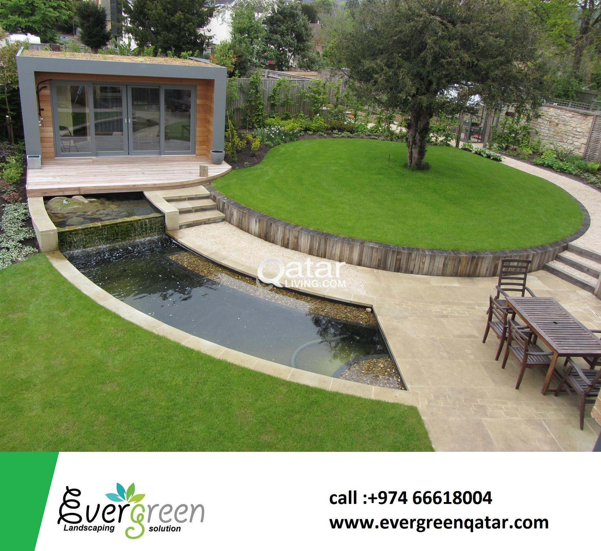 evergreen landscaping solution qatar qatar living