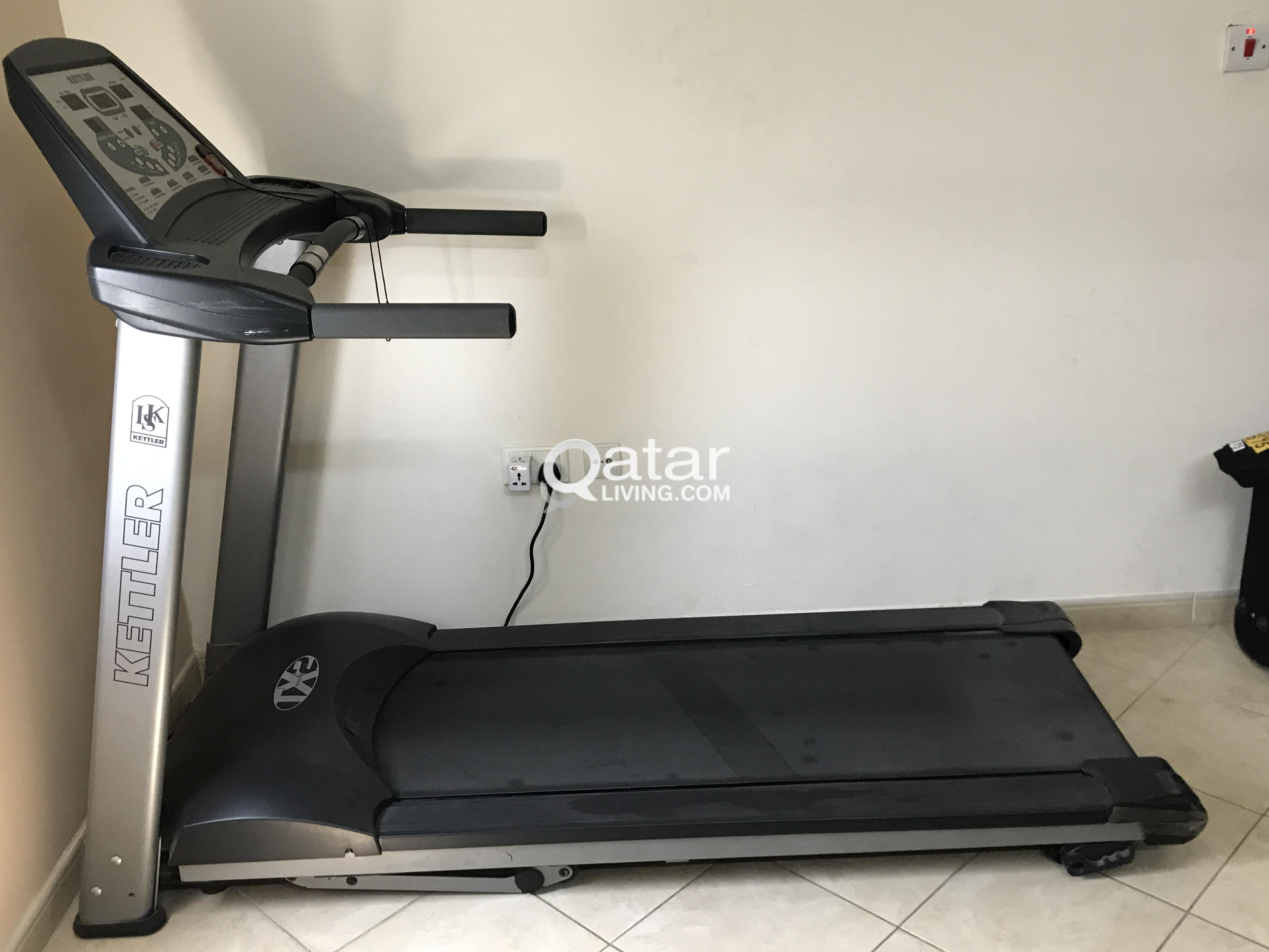 Treadmill with variable speed and digital displays | Qatar Living