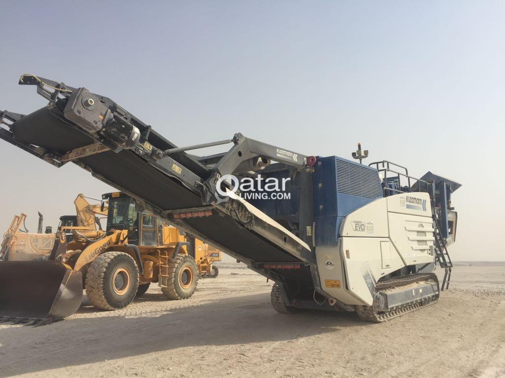 AGGREGATE IMPACT MOBILE CRUSHER and MOBILE POWERSCREEN FOR