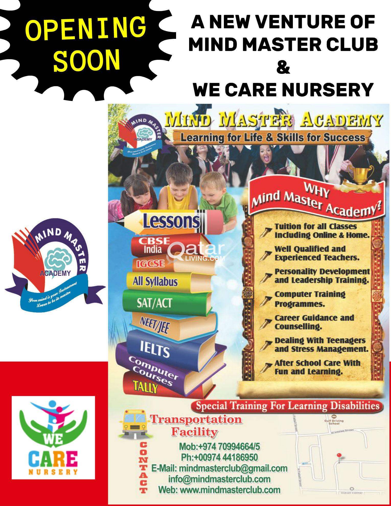 AFTER SCHOOL CARE AND TUITION FACILITY