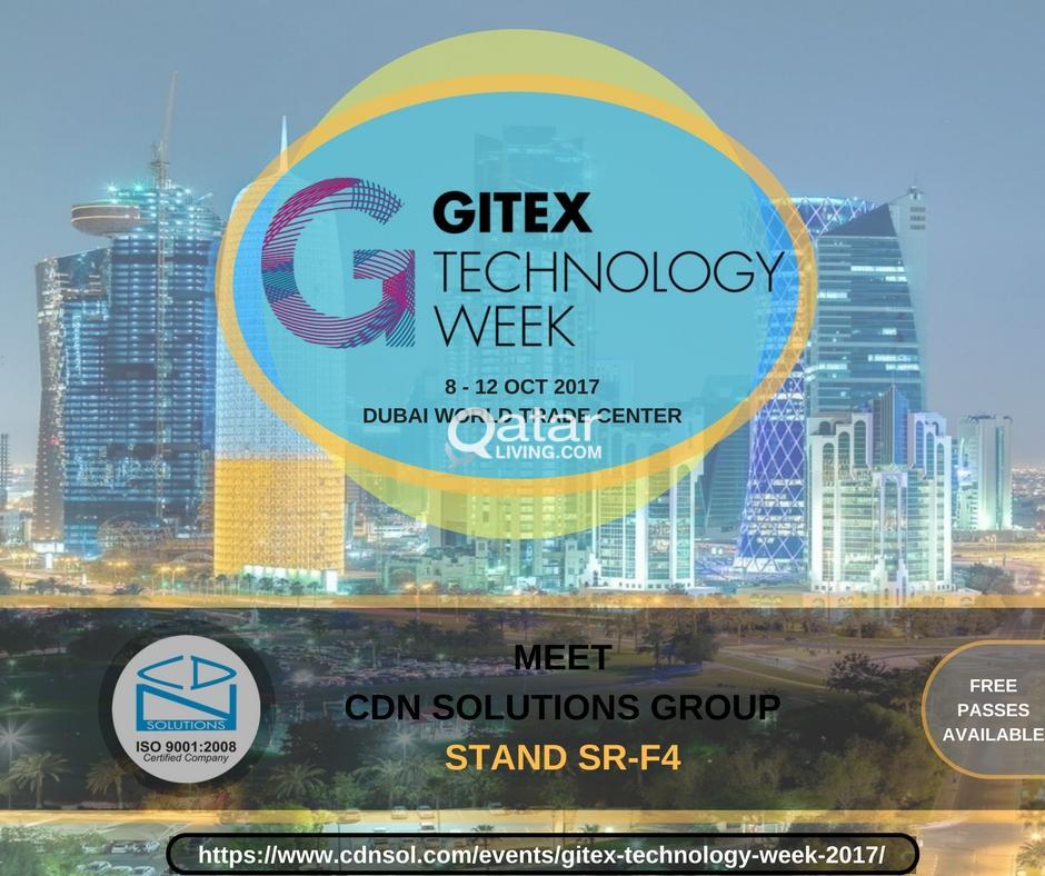 Meet Tech Giant CDN Solutions Group at Gitex Dubai 2017 | Qatar Living