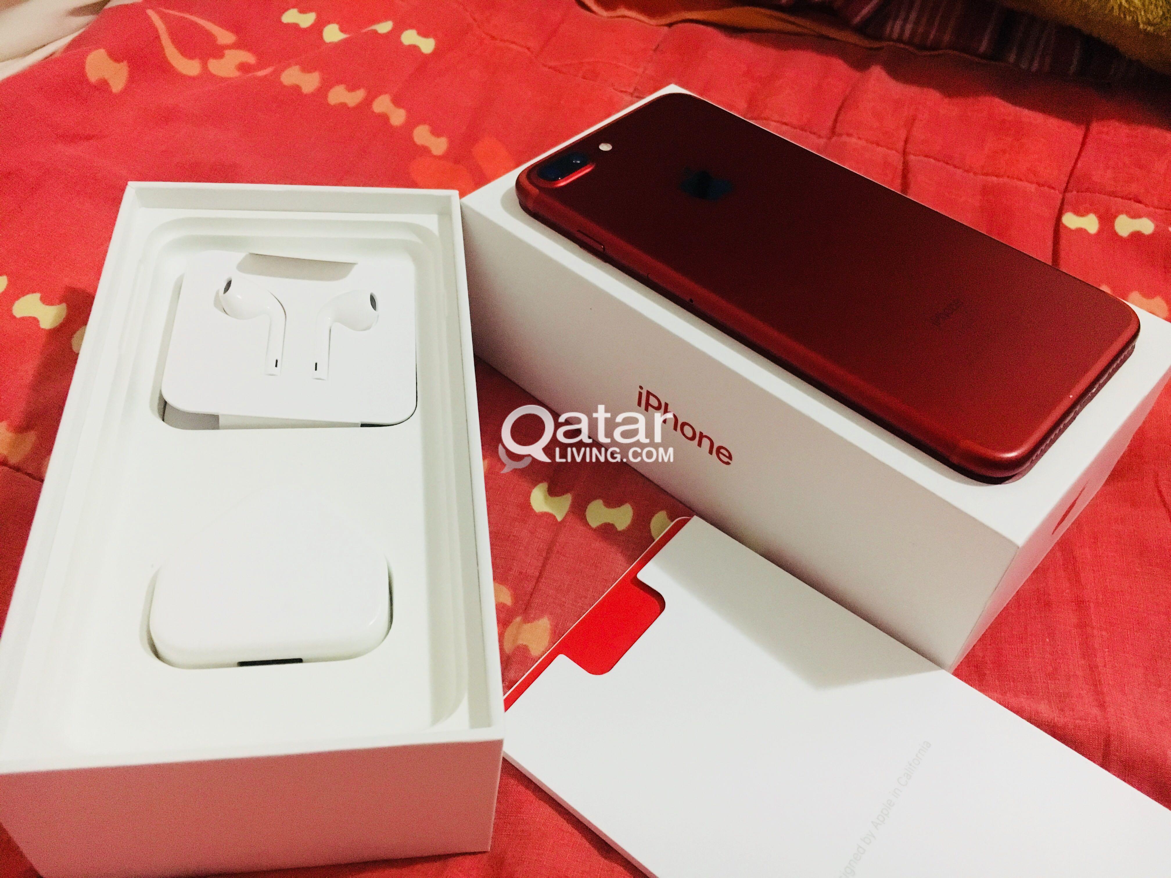 iPhone 7 Plus 128Gb Red New | Qatar Living