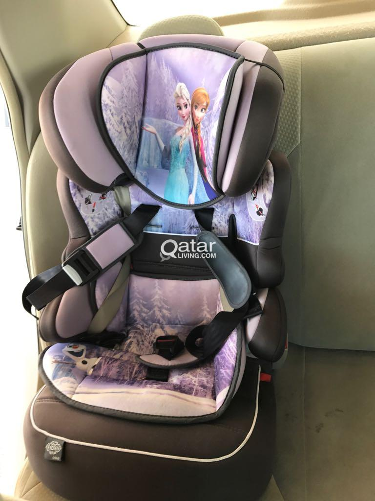 Title Information Sparingly Used Baby Frozen Car Seat