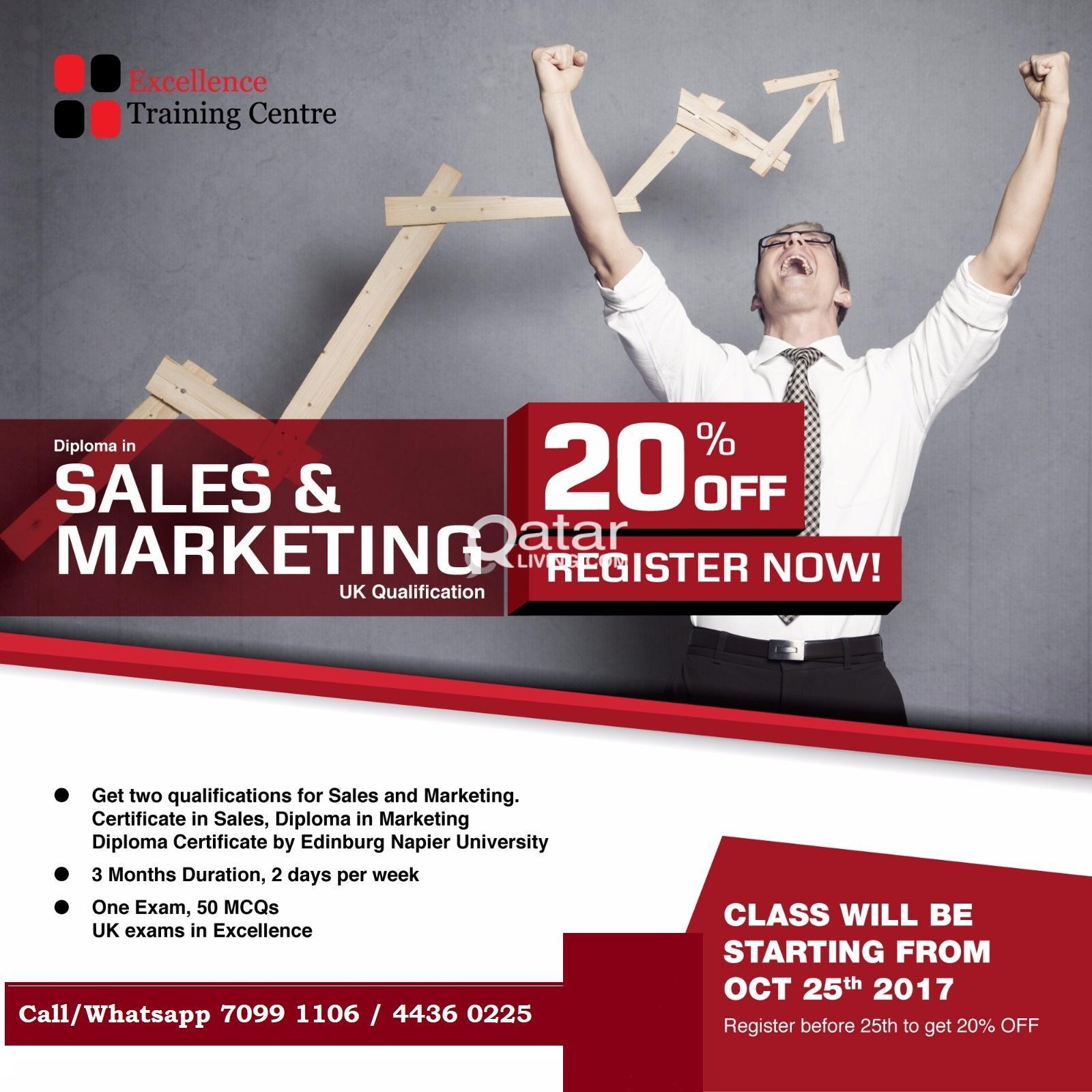 Diploma In Marketing Qatar Living