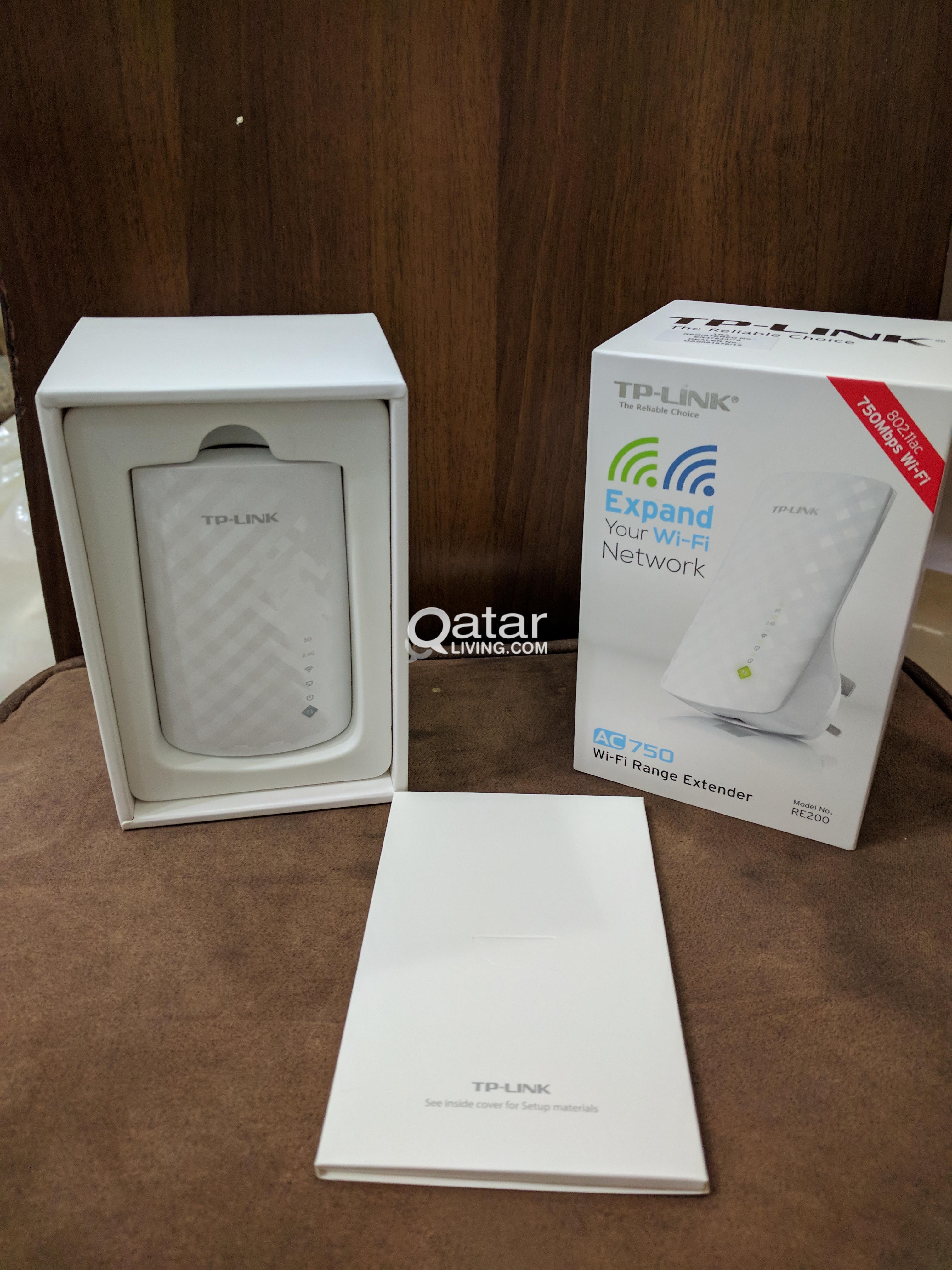 Brand New WiFi Extender 5G 2 4G 750 Mbps!   Qatar Living