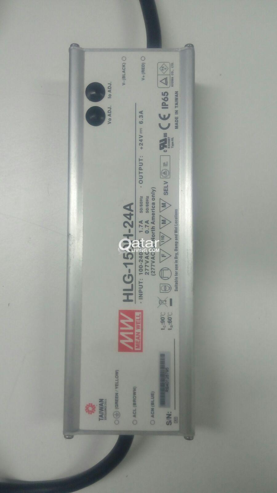 220 V Ac To 24 Dc Led Power Supply Qatar Living Volts Title Information Hlg 80h Meanwell