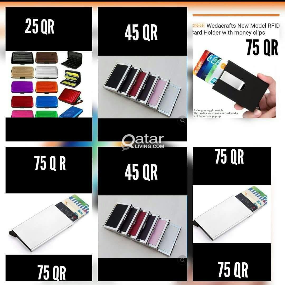The Ultimate Slim aluminum wallet Capacity  7 card