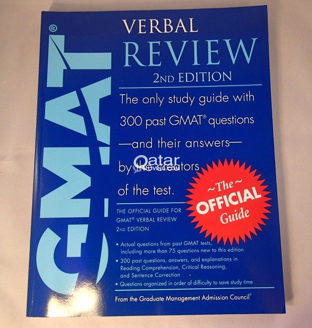 title; title; title. Information. GMAT Verbal Review - 2nd Edition