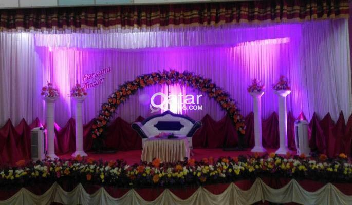 Stage event decoration in doha qatar qatar living title junglespirit Choice Image