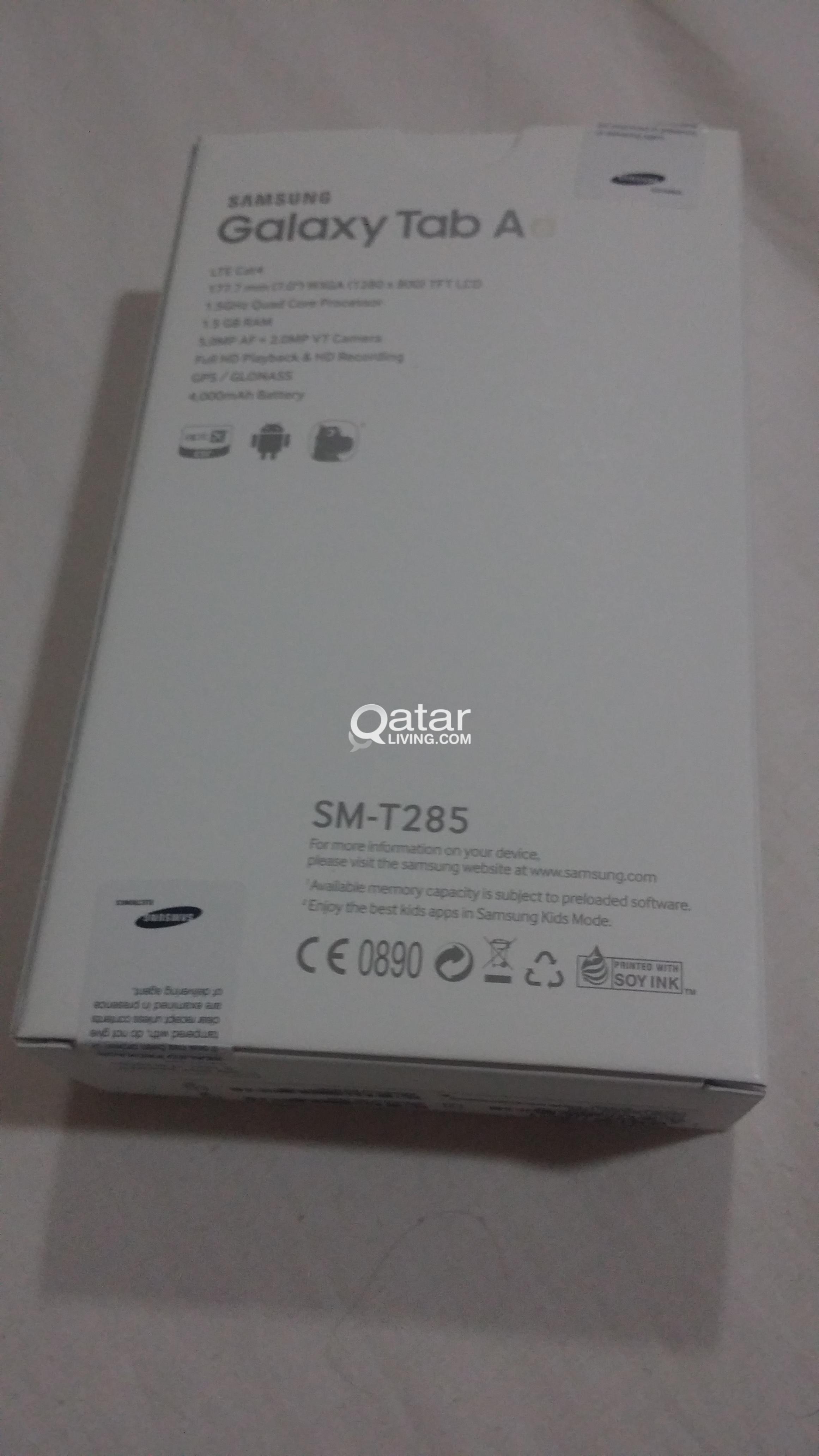 Brand New Sealed Samsung Galaxy Tab A6 SM-t285 7