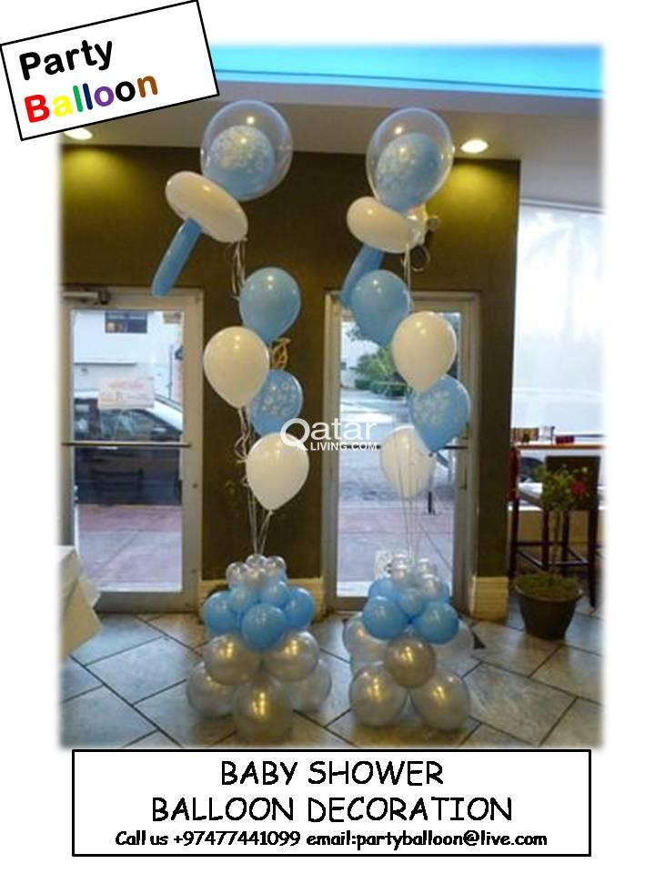 Title; Title; Title. Information. BALLOON DECORATION For BABY SHOWER PARTY