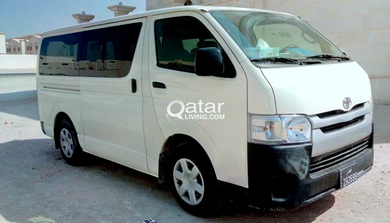 15 Seater Toyota HIACE Van for Sale | Qatar Living