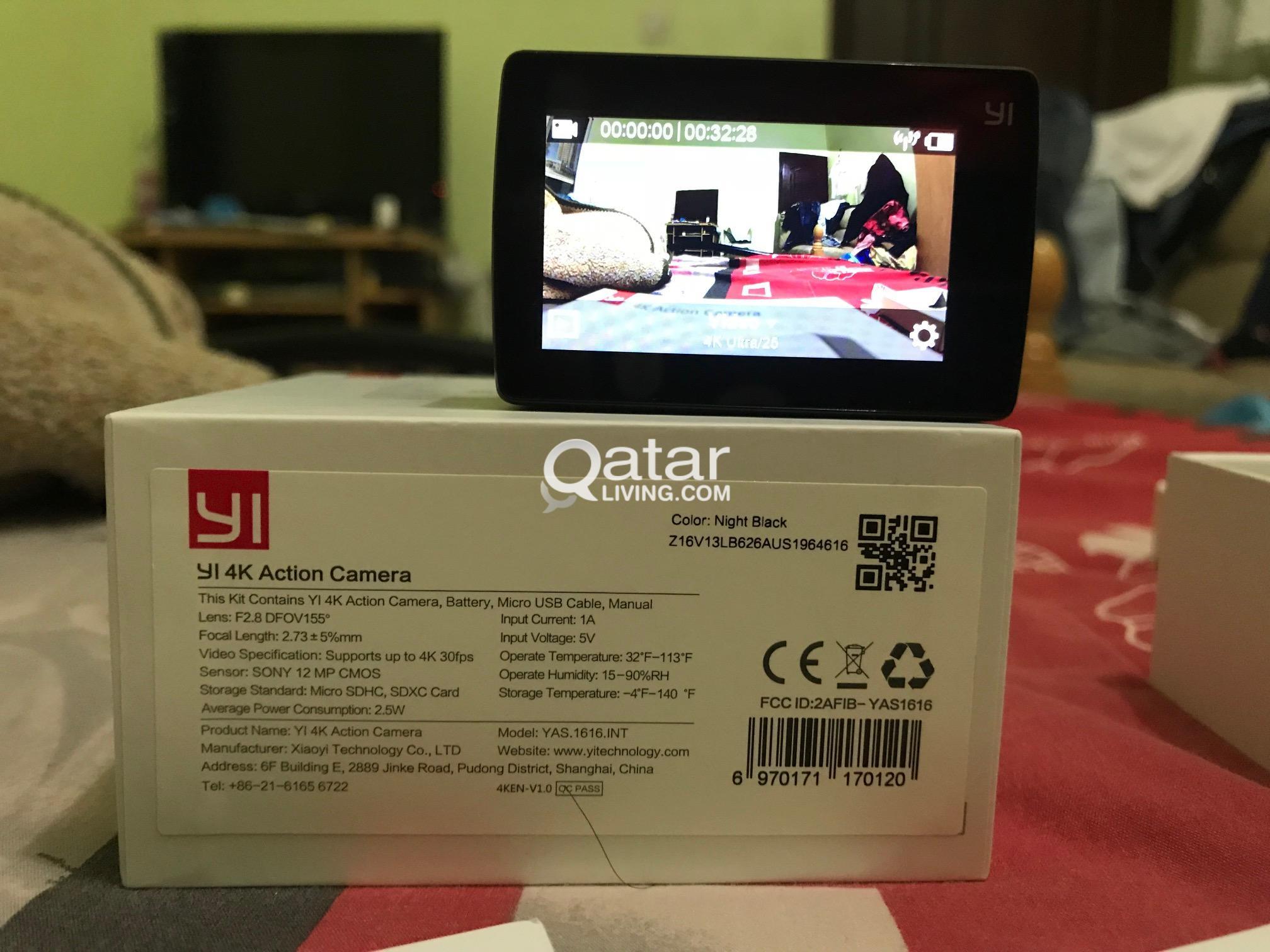Xiaomi Yi 4k Action Camera Qatar Living Ii Title Information Camerafree