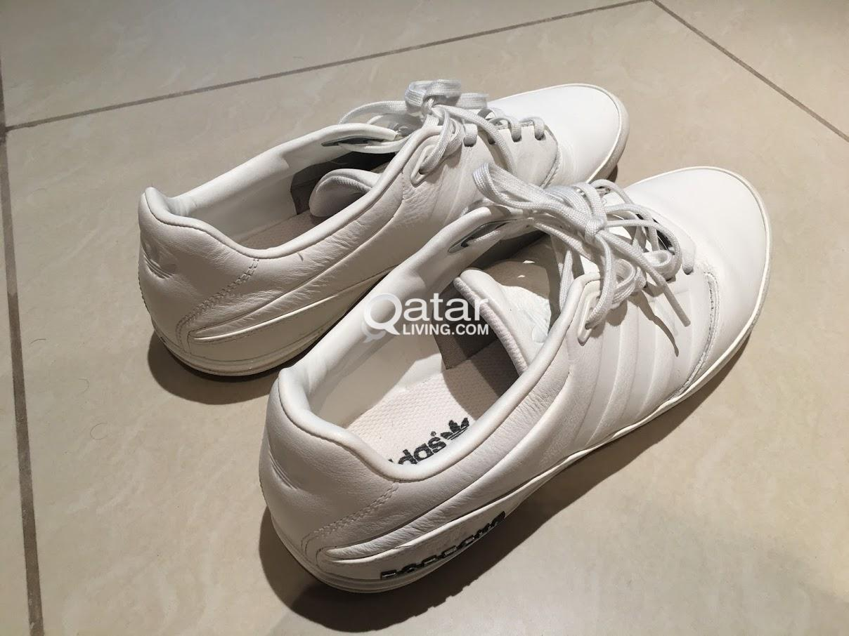 buy online 69f9d 79213 MENS Size 44 White Leather Adidas Porsche Design Typ 64 2.0 ...