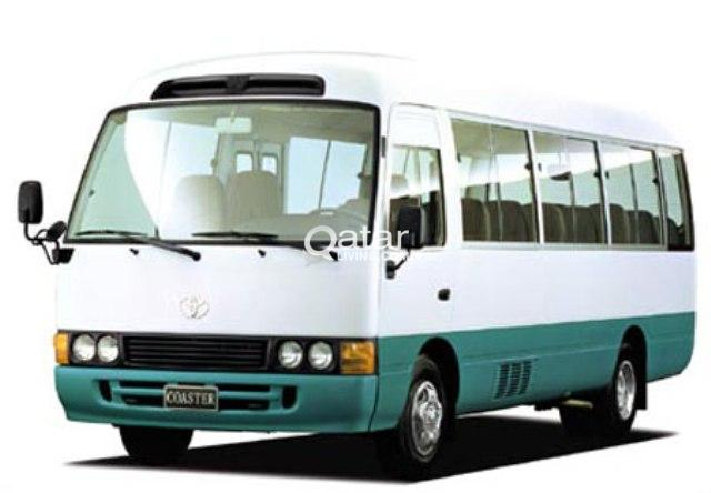 TOYOTA COASTER(30 SEATS) FOR RENT