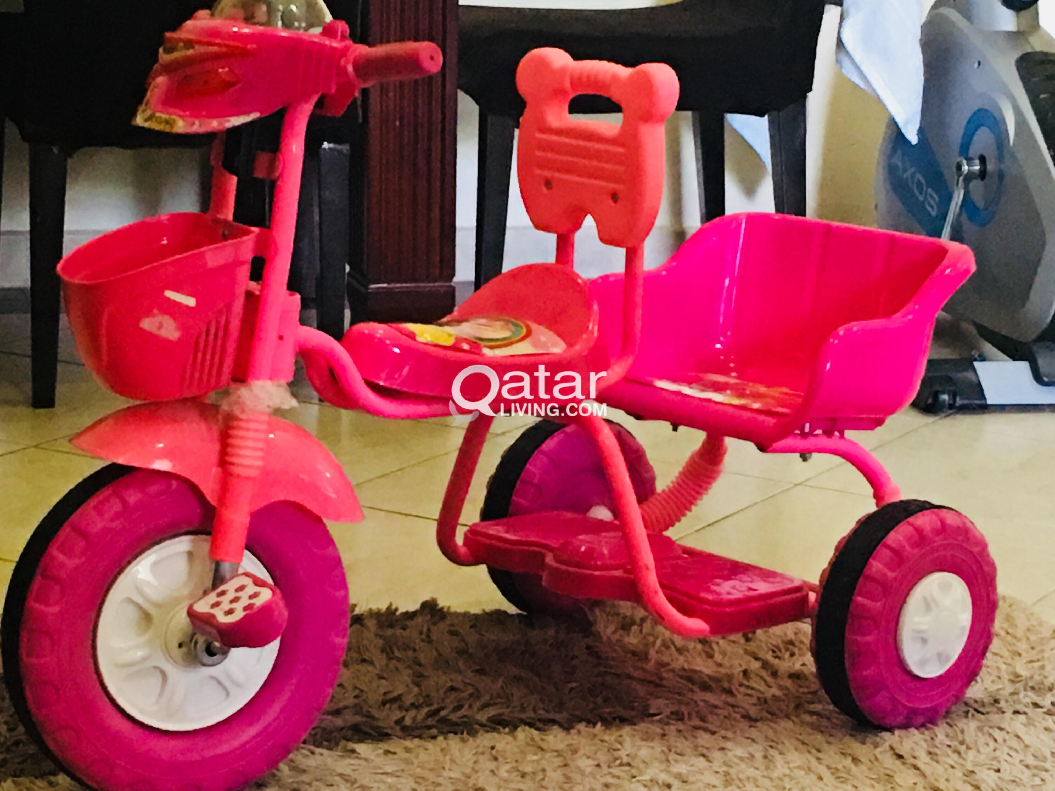 brand new stroller with free tricycle