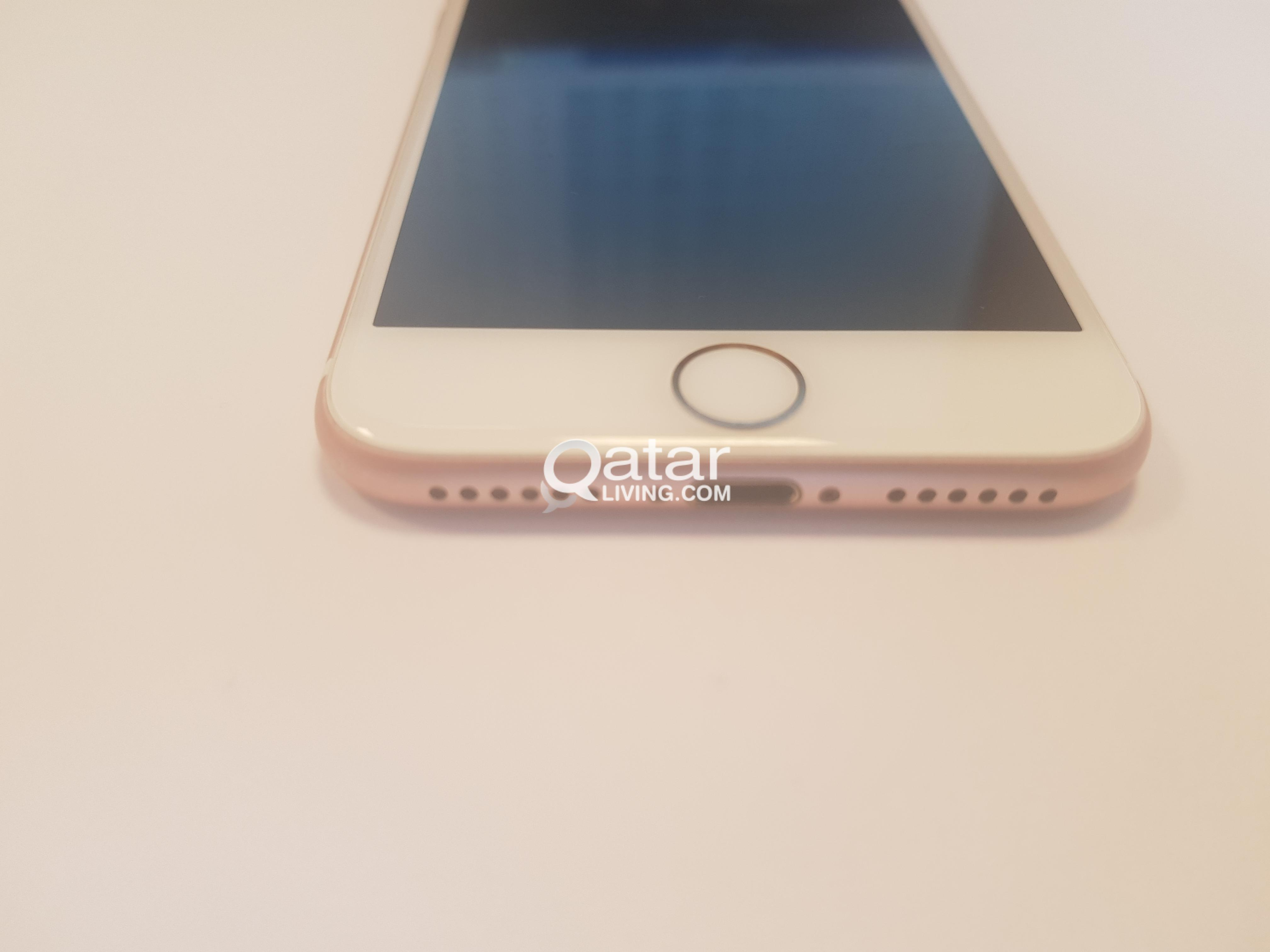 Iphone 7 32 Gb Rose Gold Qatar Living Title Information