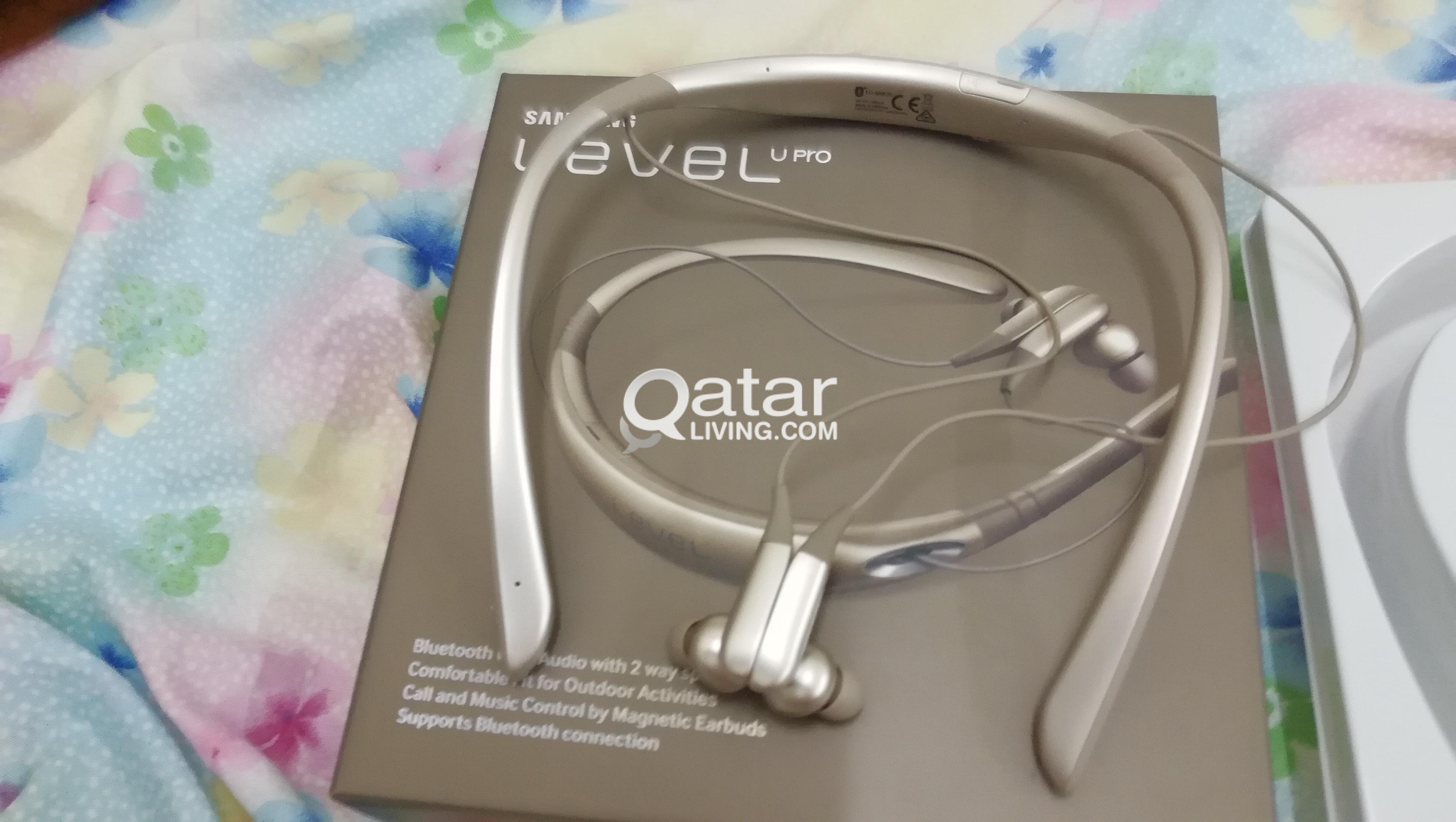 Samsung Level U Pro Bluetooth New Only 1 Week Old Qatar Living