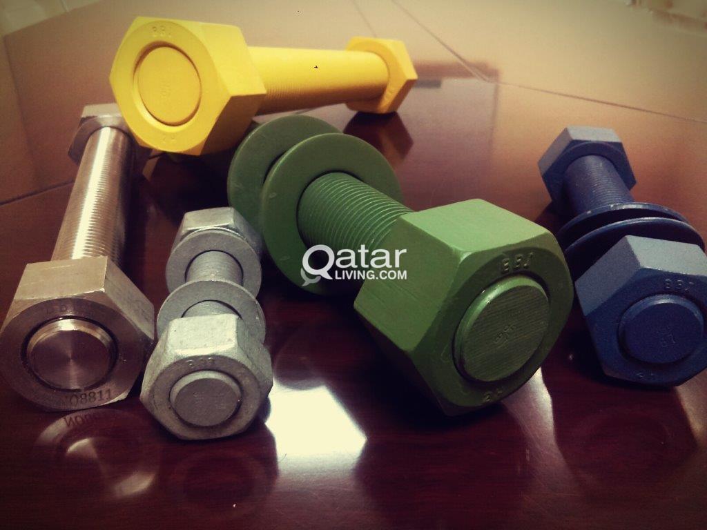 Fasteners & Foundation Bolts | Qatar Living