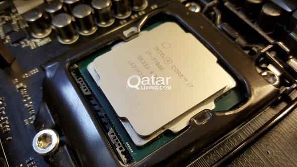 Gaming PC Brand New Intel® Core™ i7-7700K Processo