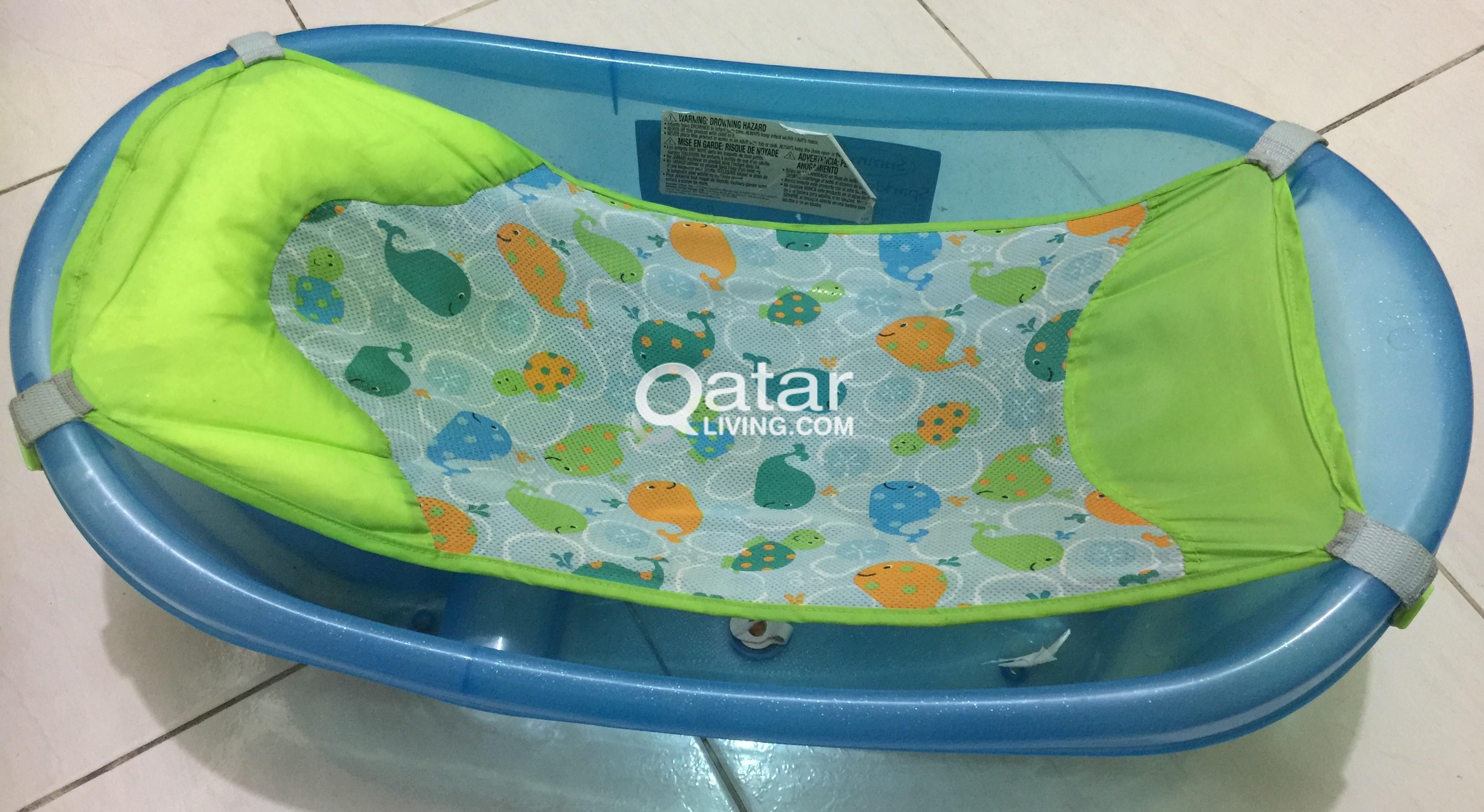 Summers Sparkle \'n Splash Baby bath tub for sale for 40 QR | Qatar ...