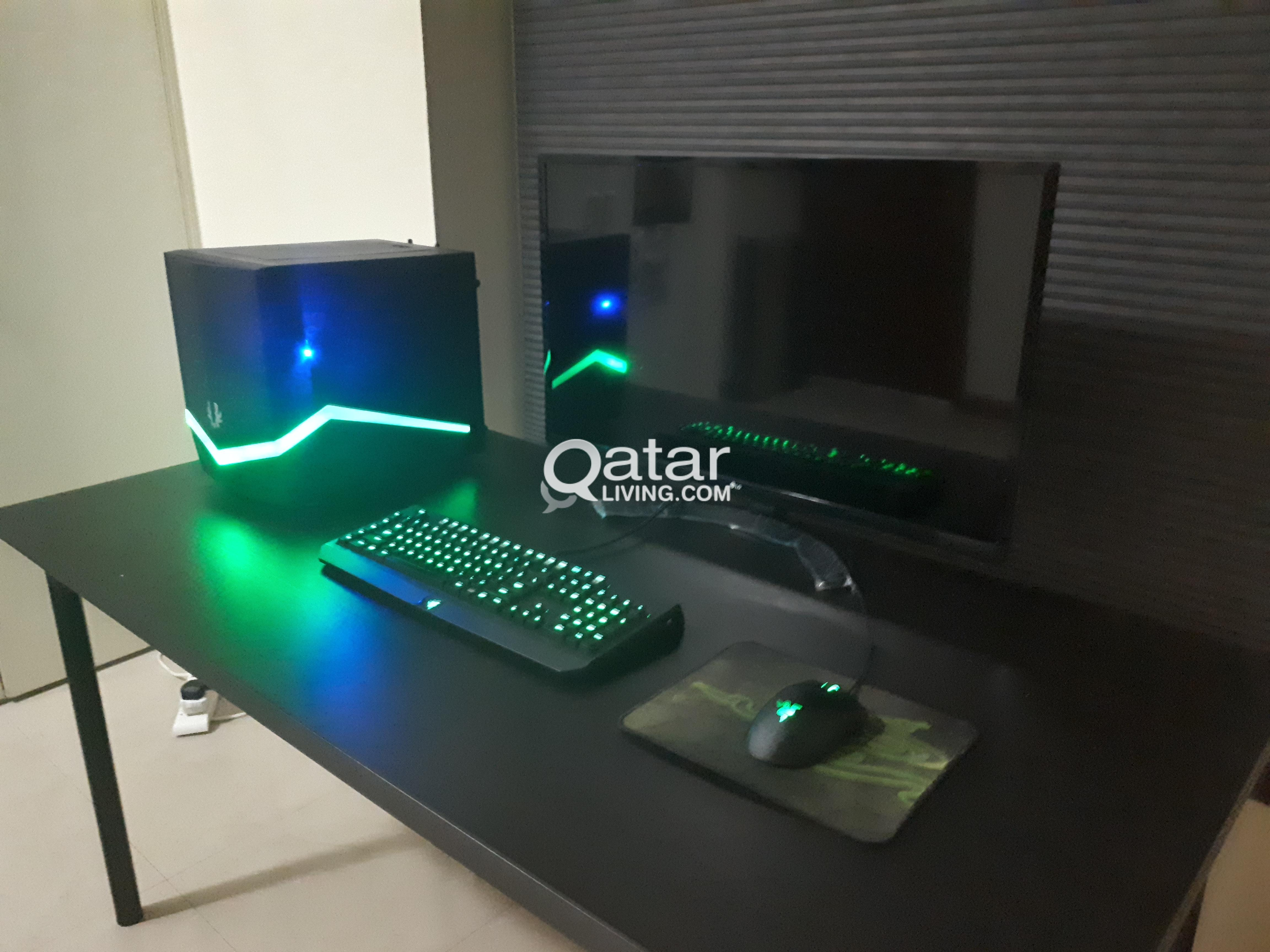 Newly Built gaming puter and setup for sale