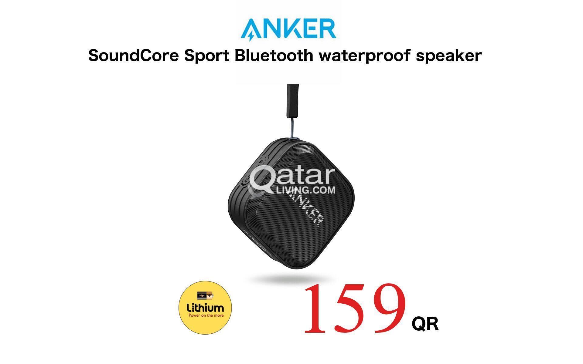 Anker Speaker SoundCore Sport Portable Wireless Shower Bluetooth Waterproof