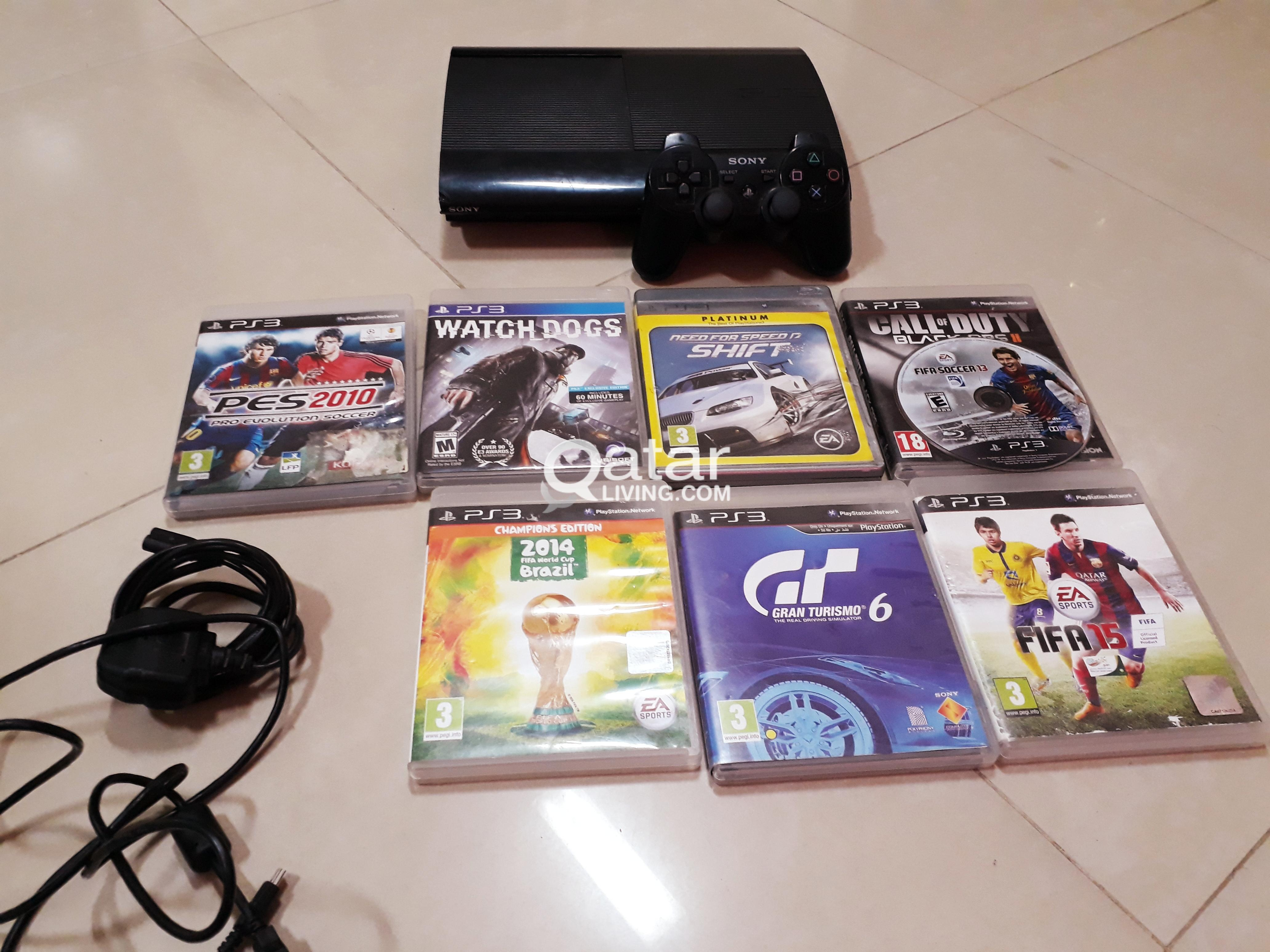 Sony Ps3 500gb For Sale Qatar Living Ps4 Dvd Fifa 2015 Title Information Ps 3
