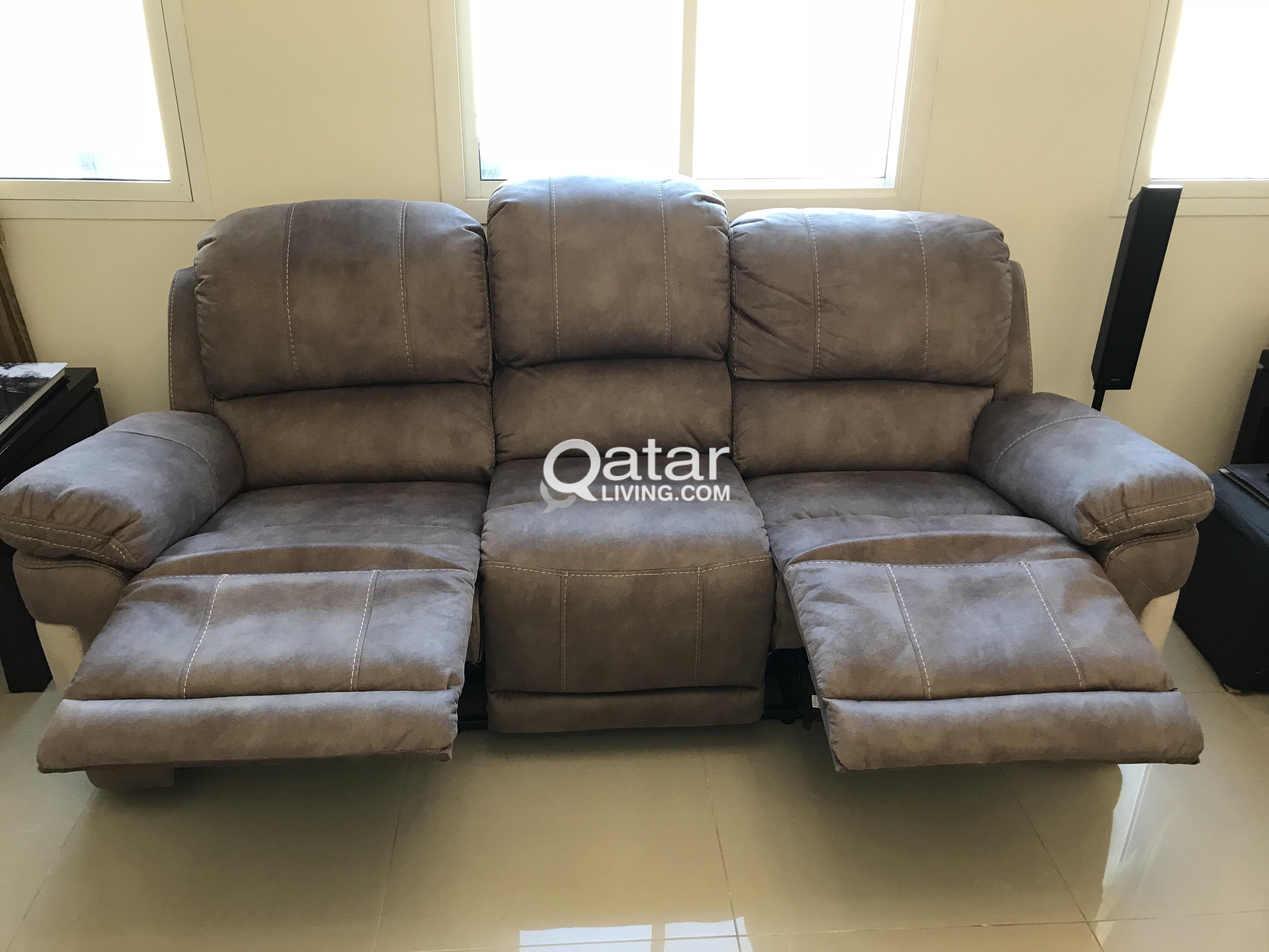 Le Information Super Comfy Recliner Sofa Set 2 Seater And 3
