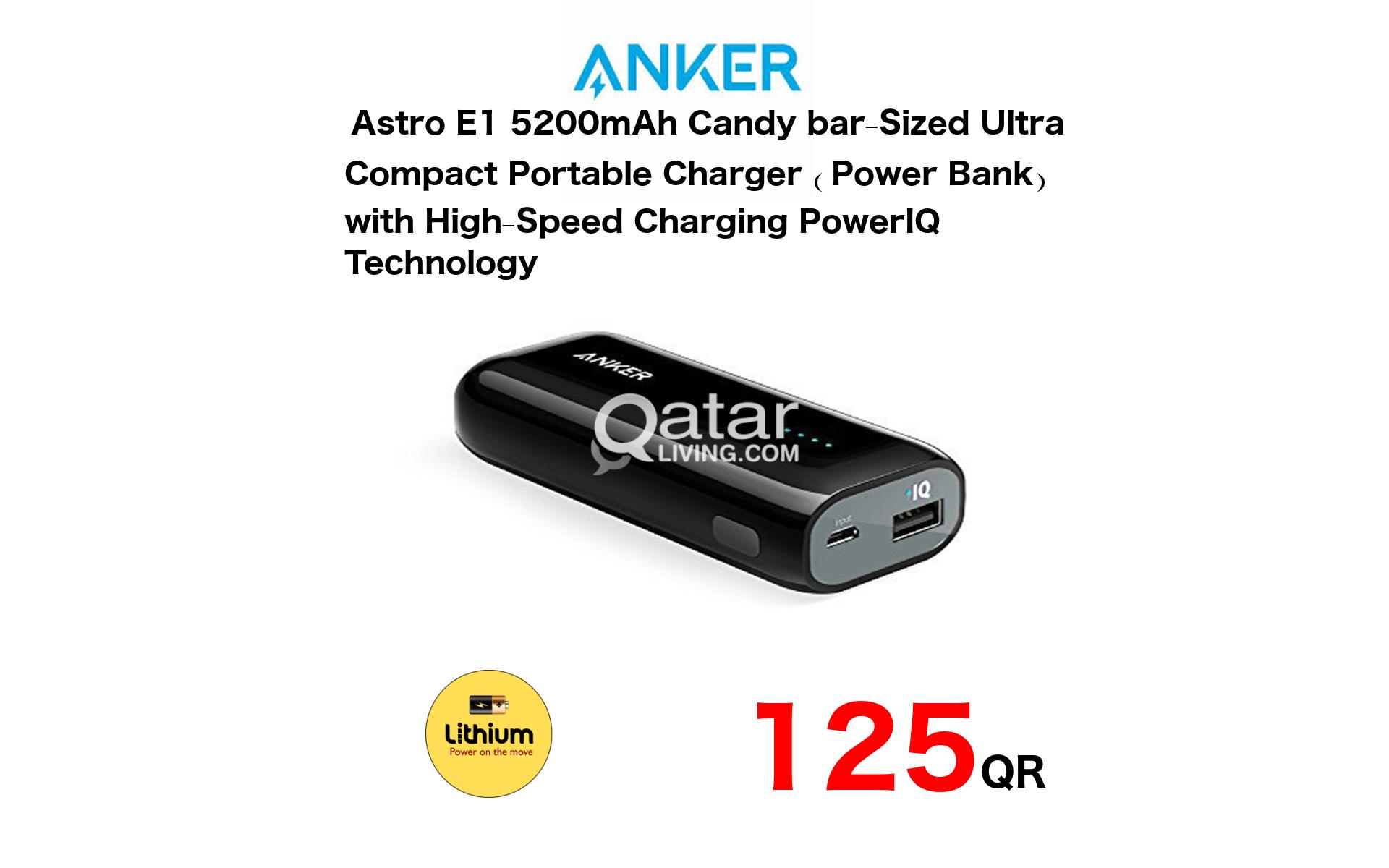 Anker Astro E1 5200mAh External Battery PowerBank   Qatar Living