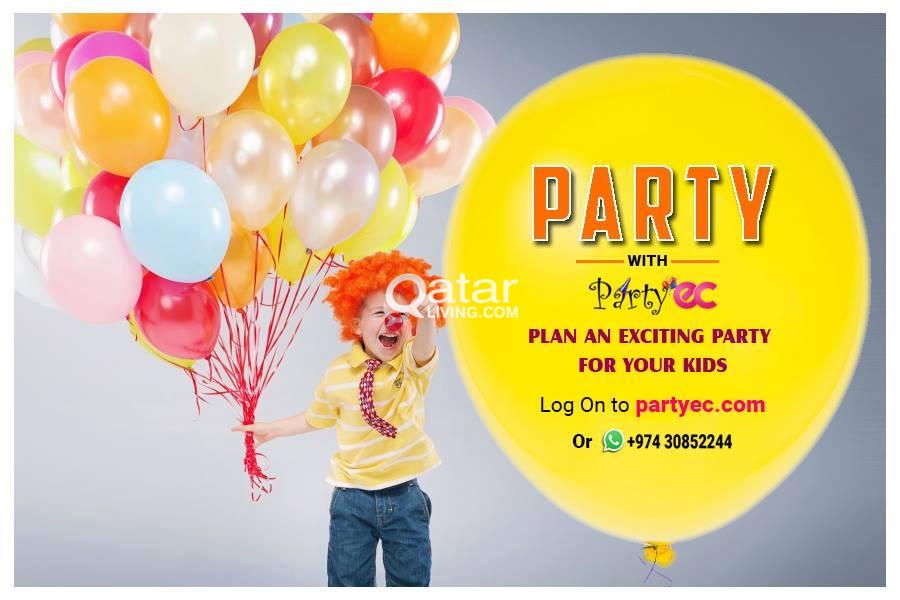 online party planner