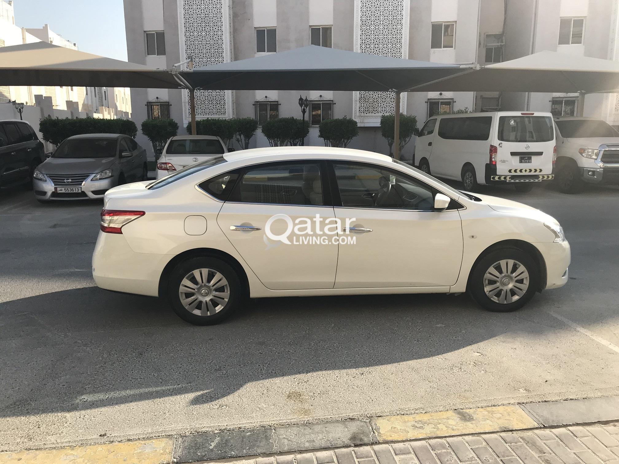 Car Nissan Sentra 2016 Model White Colour