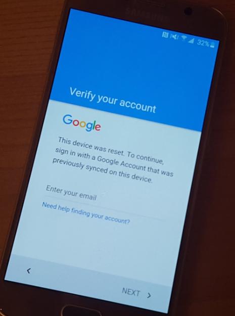 Unlock Google account locked android phone | Qatar Living