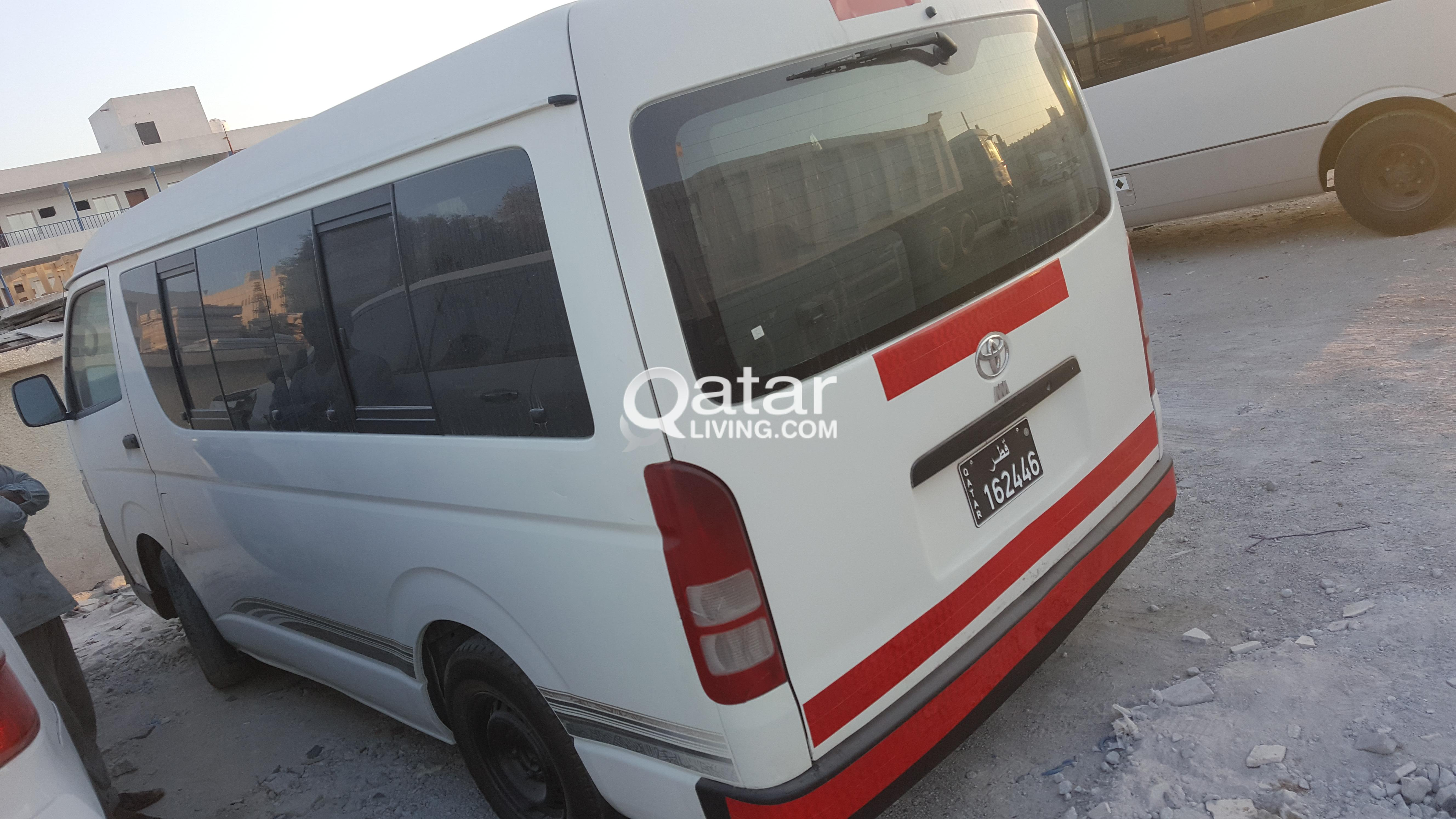 Toyota Hiace 2011 15 seat bus for sale @24000 only | Qatar Living