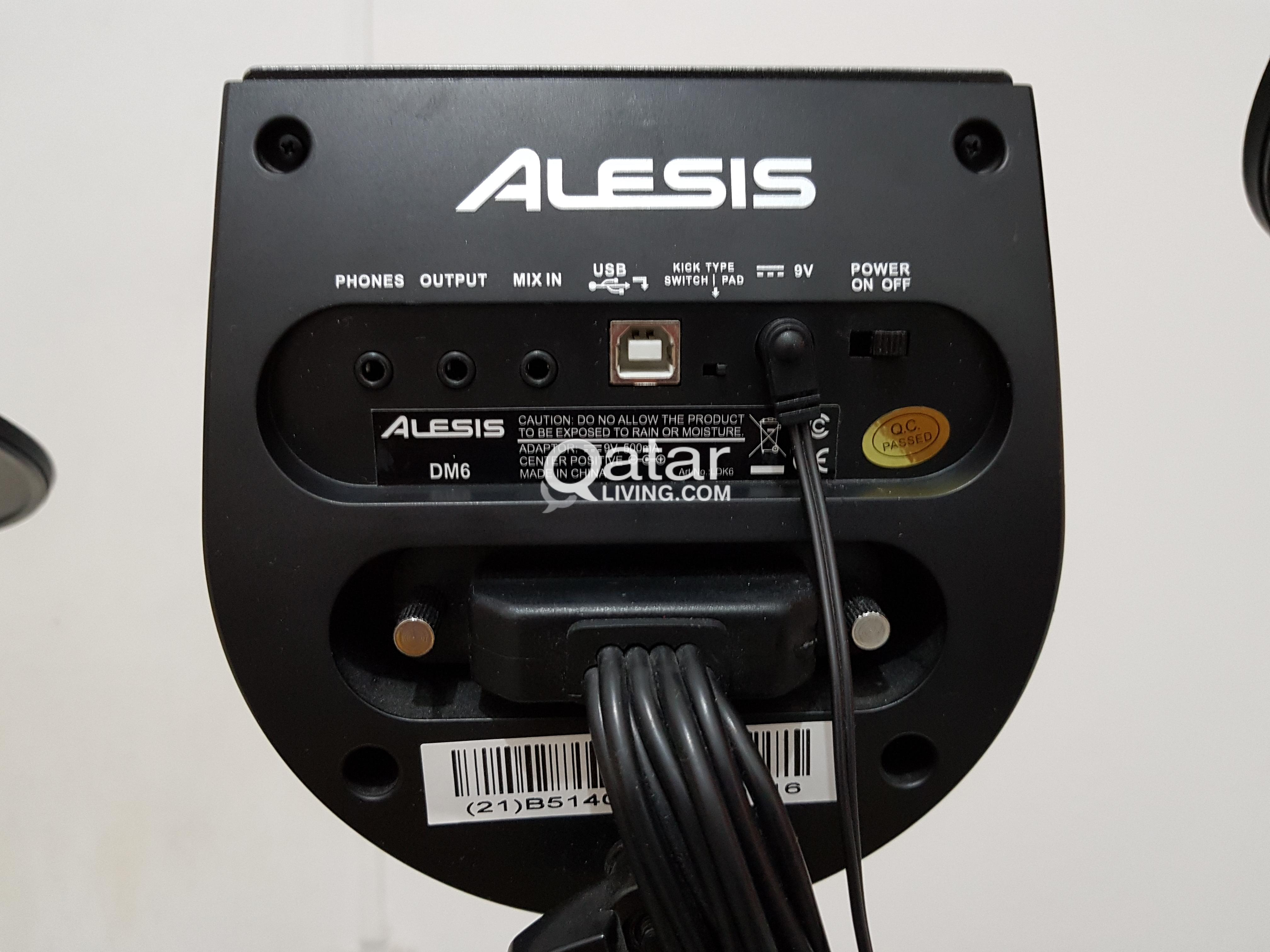 Alesis DM6 Drum Kit with Amplifier and Drum Throne!!! | Qatar Living