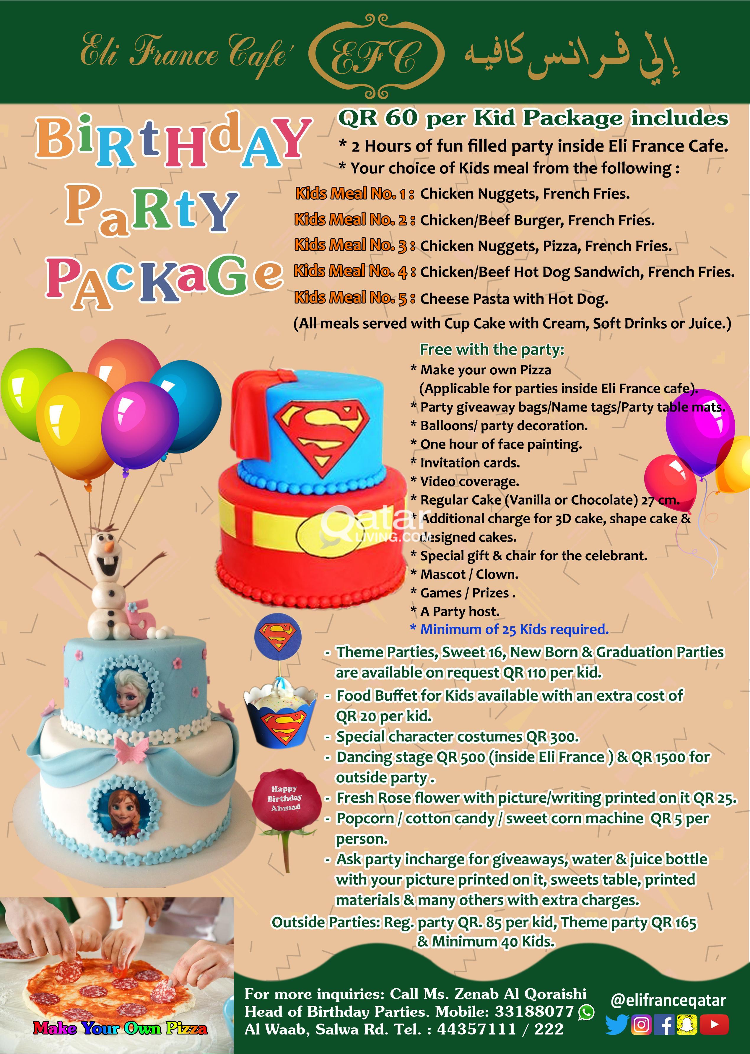 KIDS Birthday Party In Doha Qatar | Qatar Living