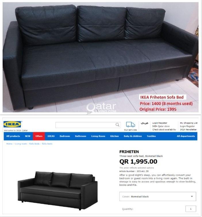 Terrific Ikea Friheten Sofa Bed Qatar Living Andrewgaddart Wooden Chair Designs For Living Room Andrewgaddartcom