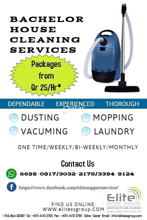Bachelor House Cleaning Services