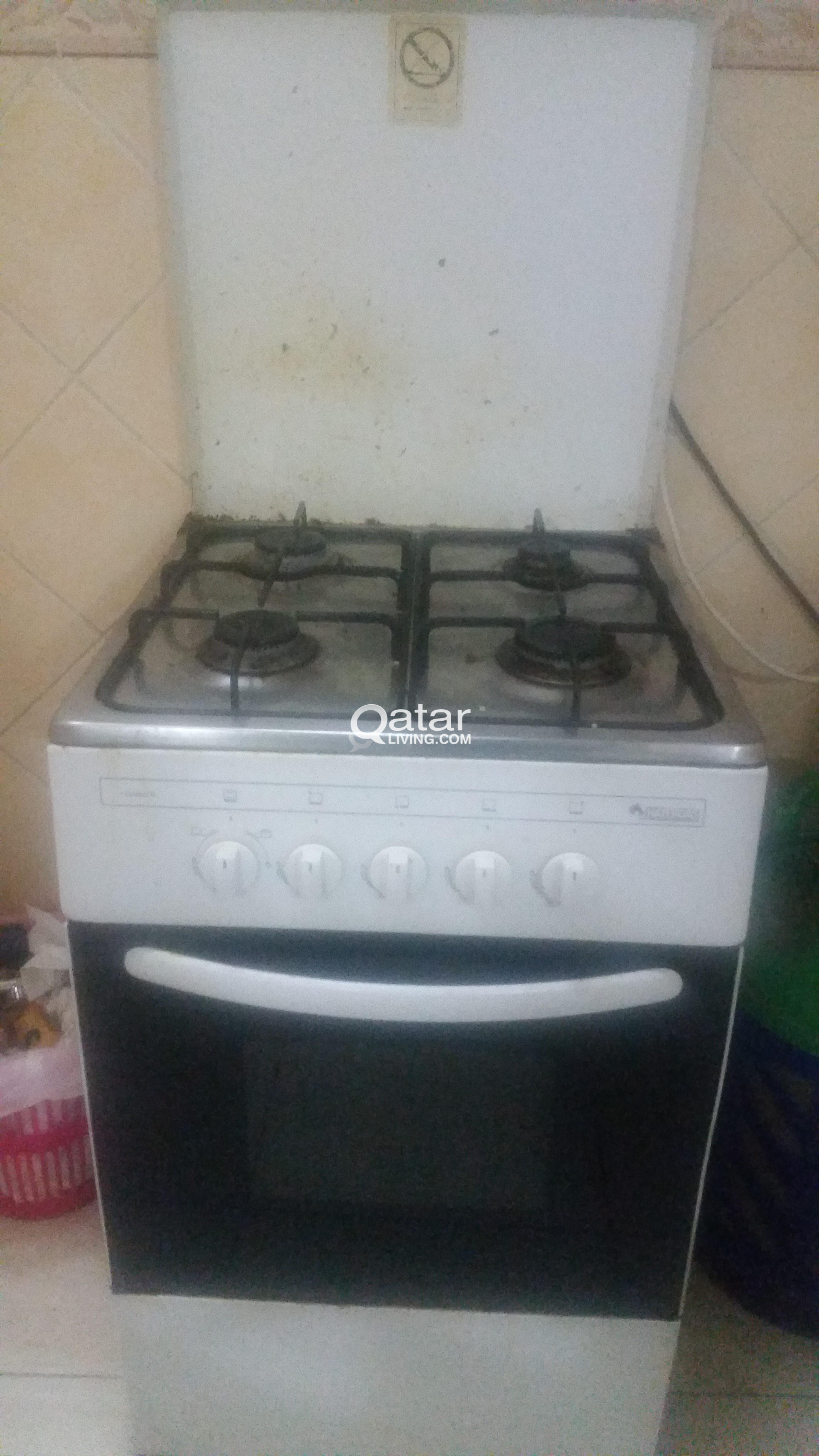 4 Burner Stove cum oven for sale | Qatar Living
