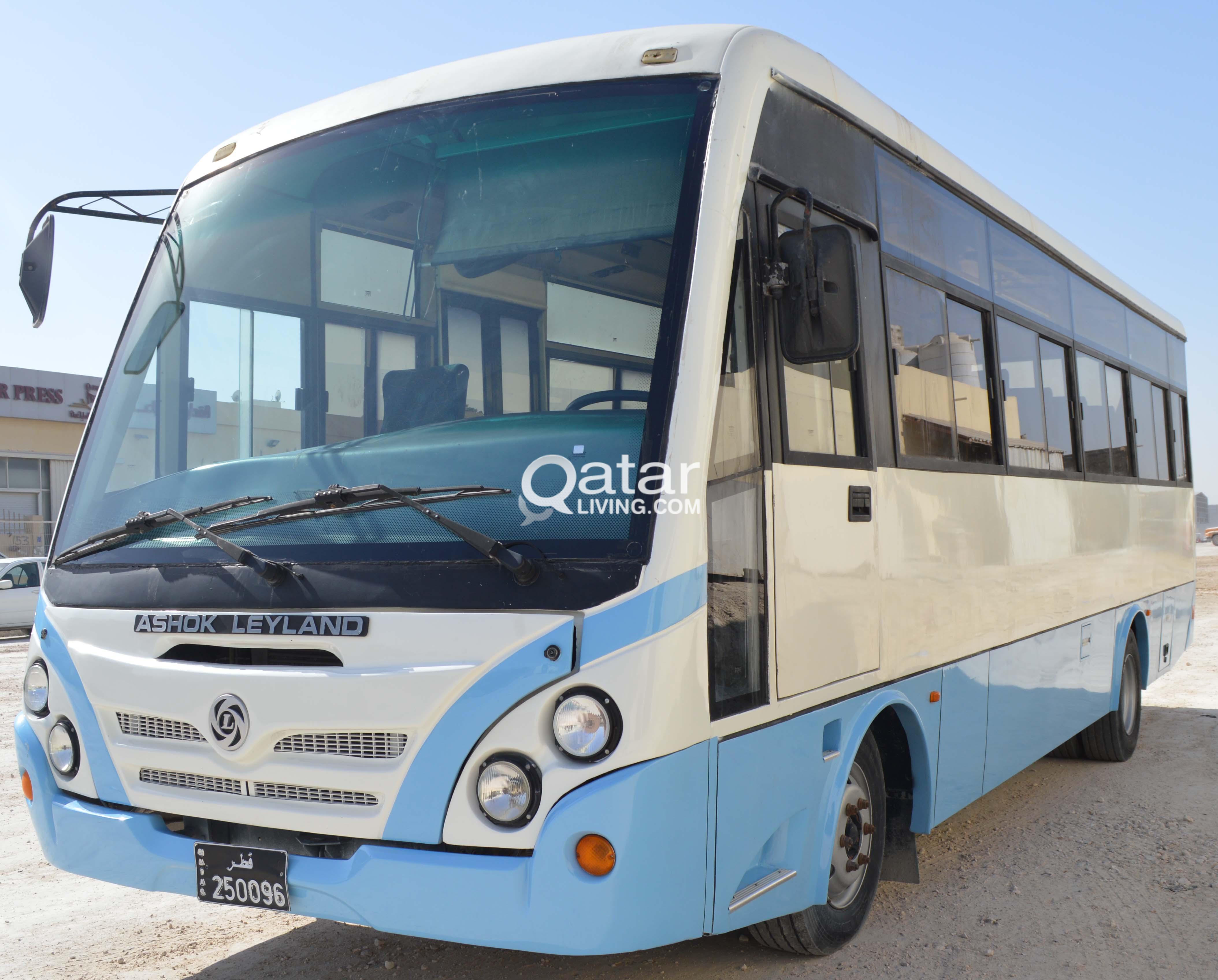 For Sale Ashok Leyland Bus Model 2013 | Qatar Living