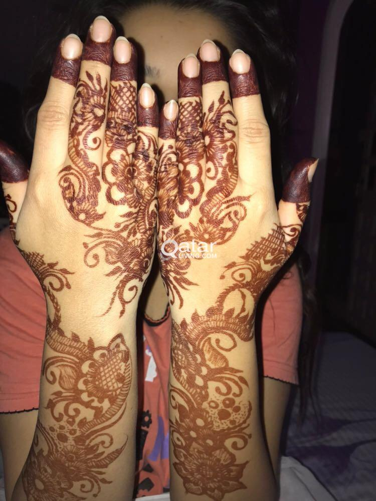Mehndi Henna Arabic Indian Any Design Qatar Living