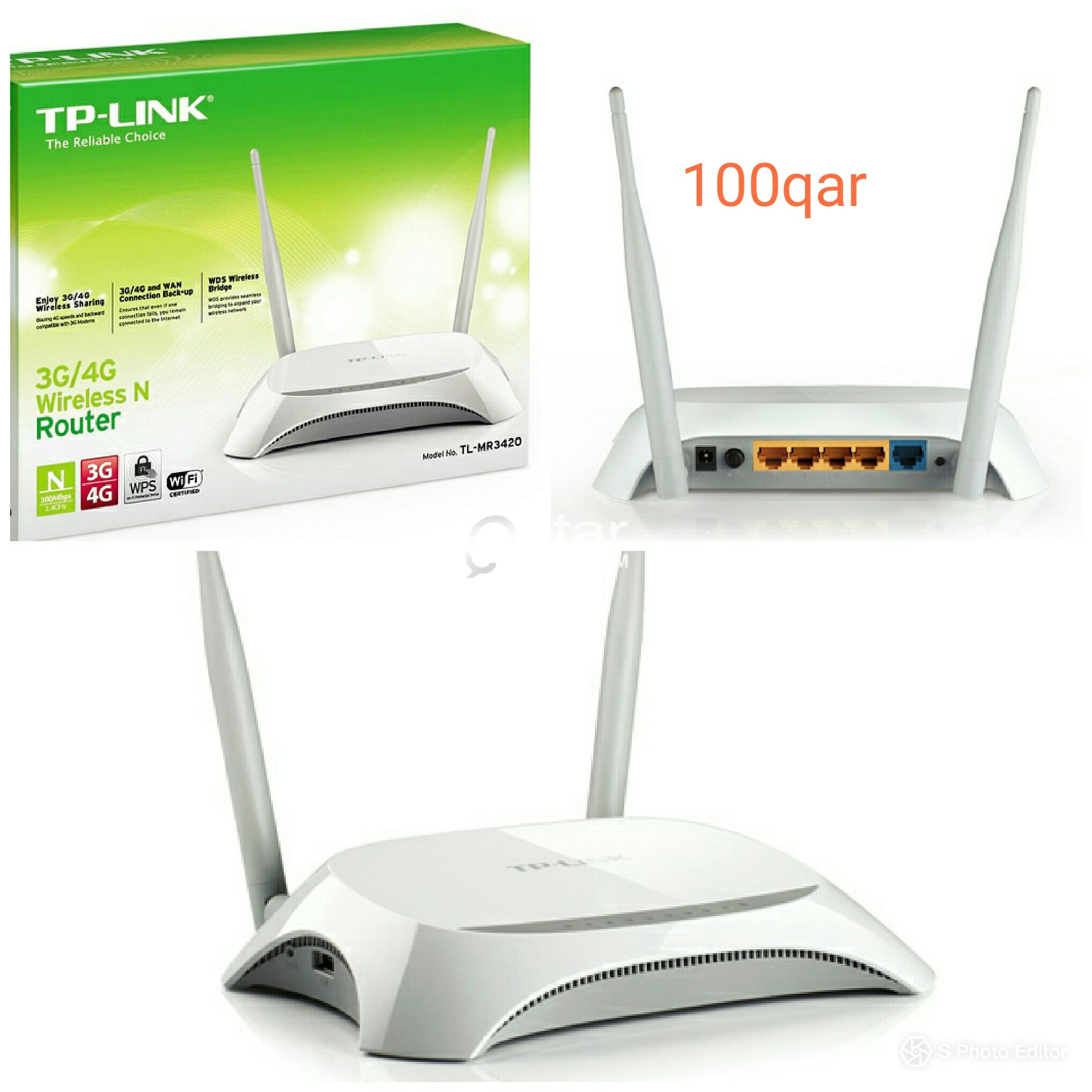 Tplink 300mbps Access Point 3g4g Wireless Router Qatar Living Tl Mr3420 N Title