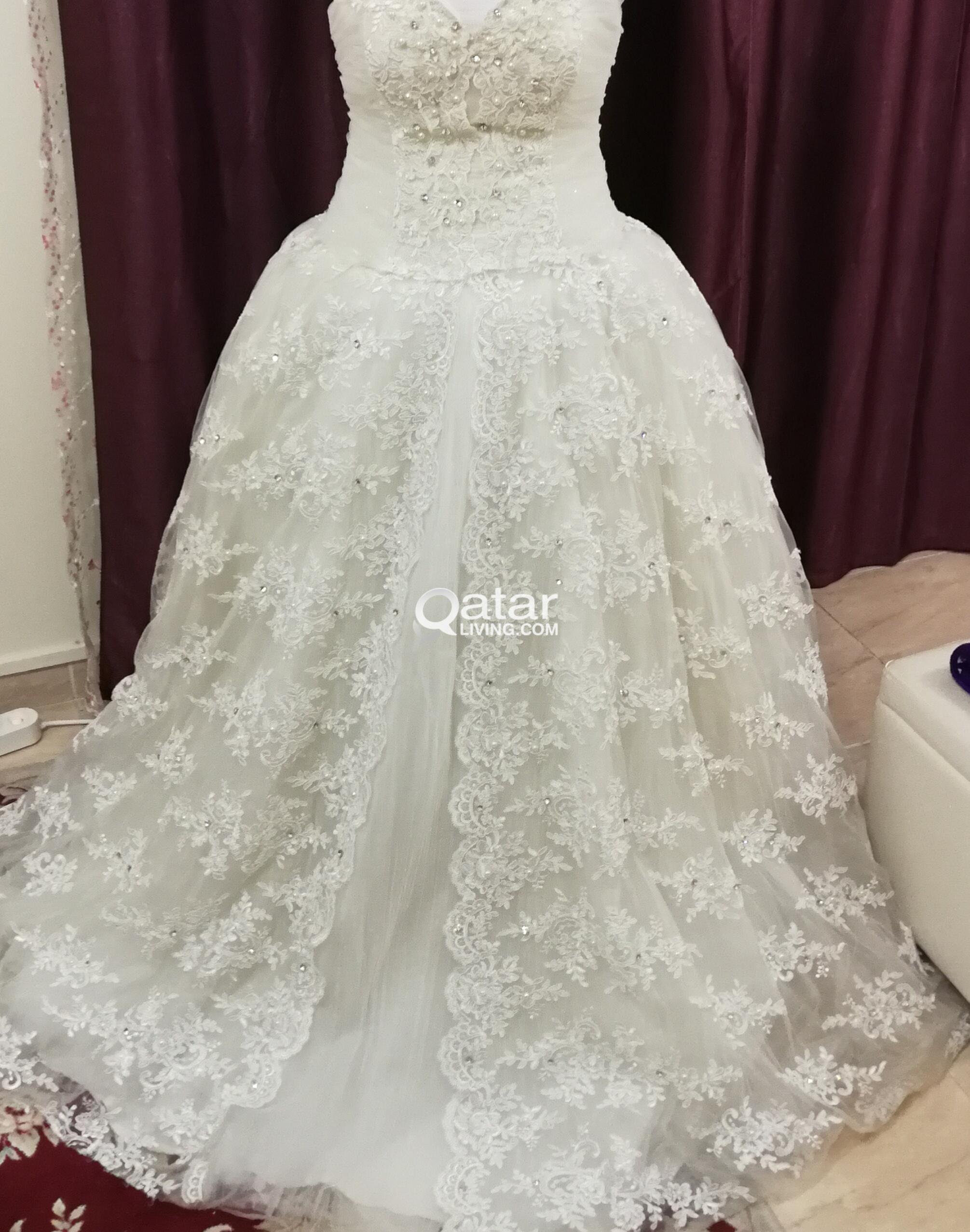 wedding dress qatar living