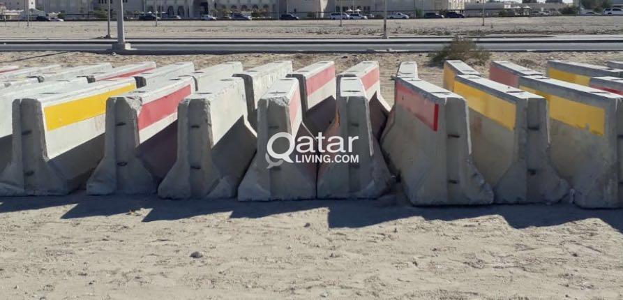 CONCRETE BARRIER FOR SALE | Qatar Living