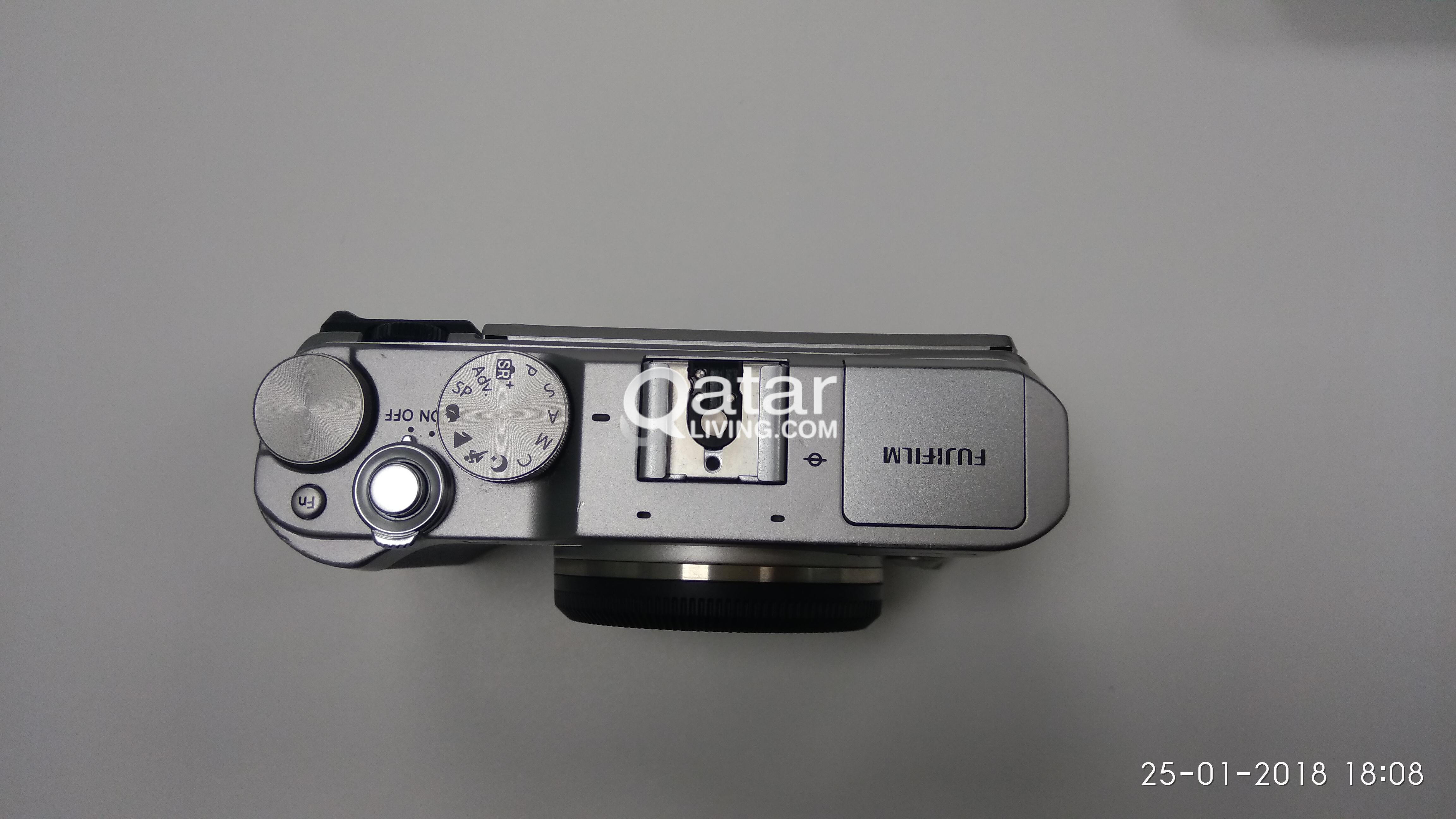 Fuji Fujifilm X A3 Mirrorless Dslr Camera With Kit Lens 16 50mm Silver Qatar Living