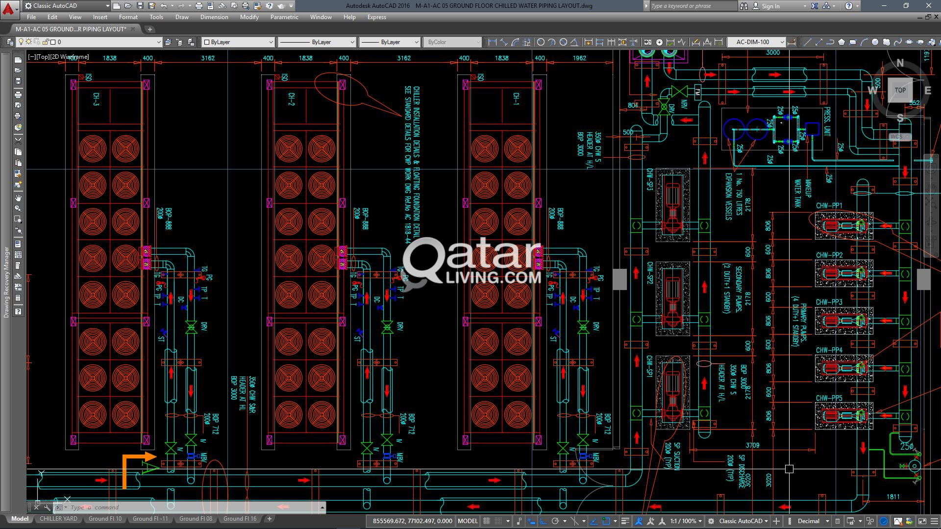 Cad Drawings Designing Mep Shop Mechanical Piping Layout Pictures Electrical Qatar Living