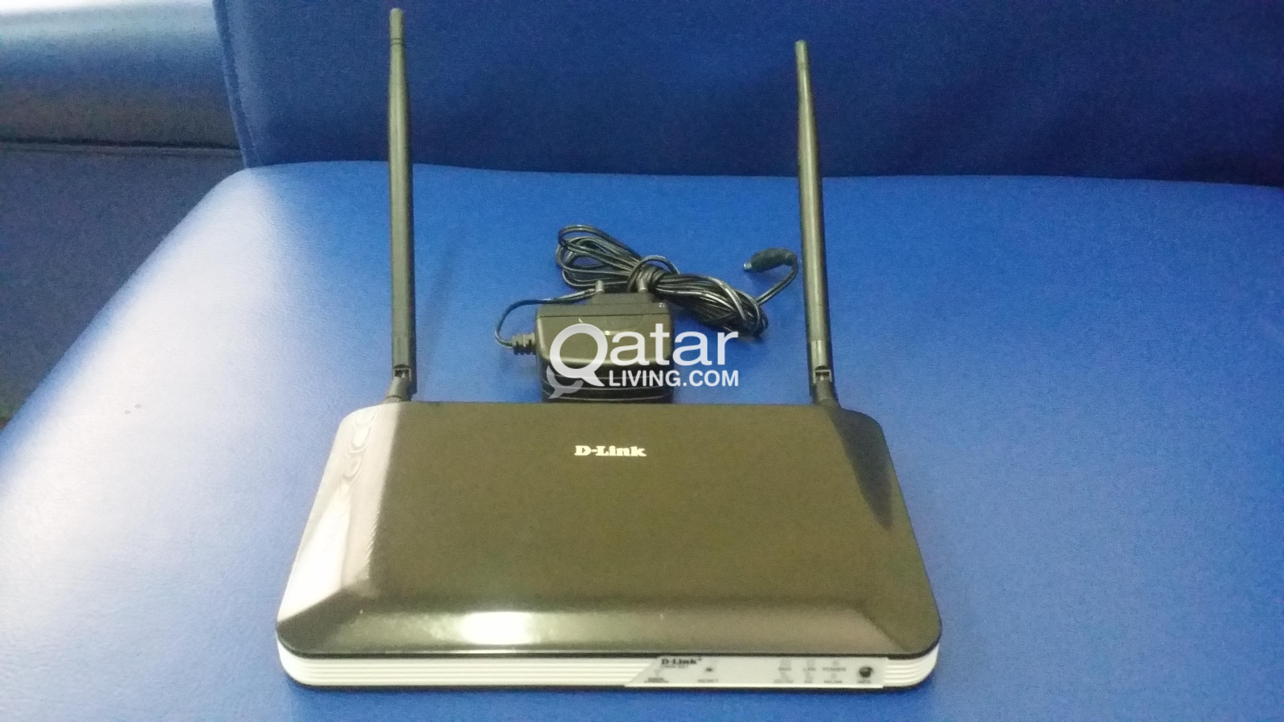 D-Link Wifi Router 4G with Sim card slot-DWR921 | Qatar Living