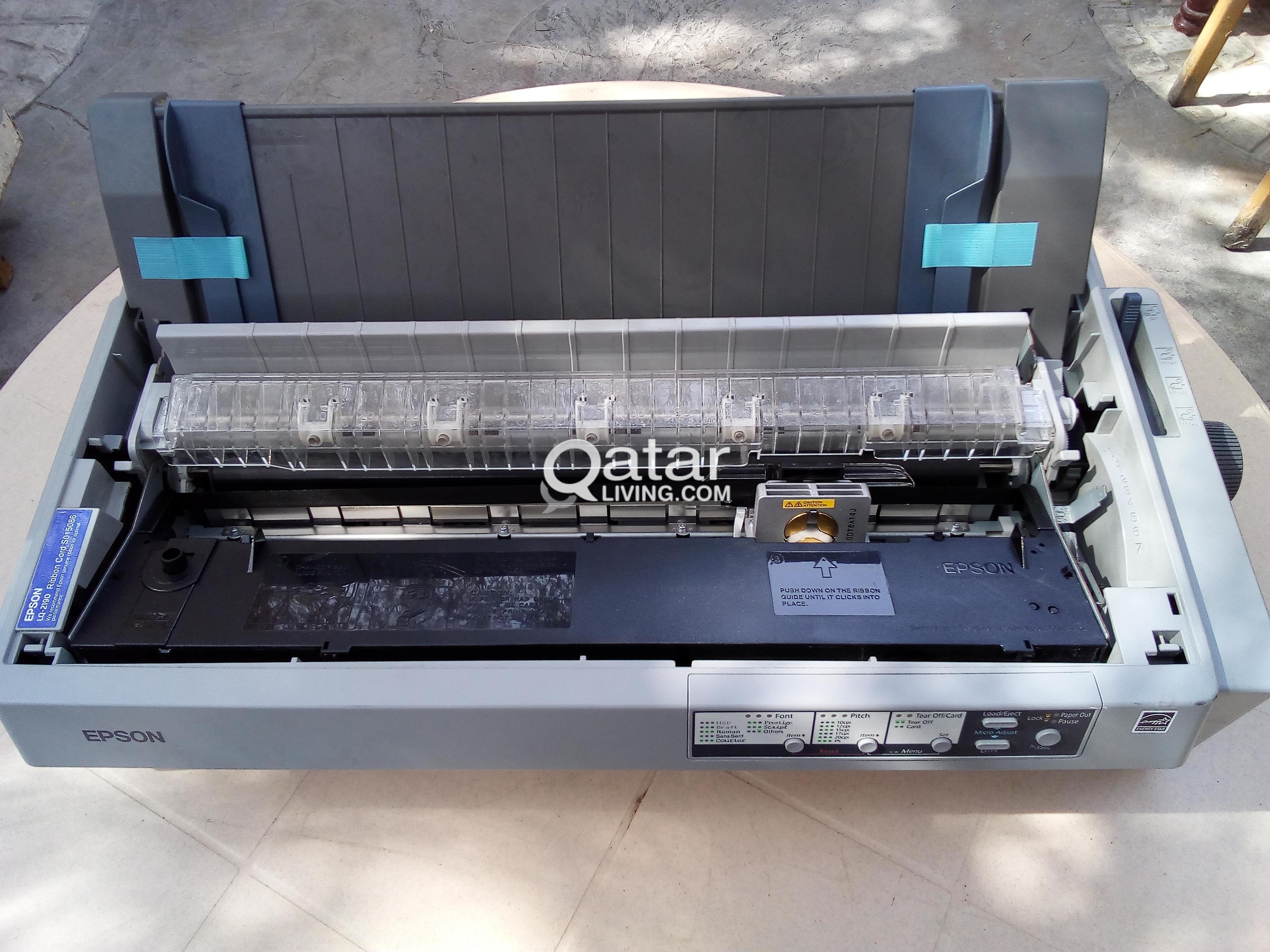 Epson LQ Invoice Printer Qatar Living - Invoice printer